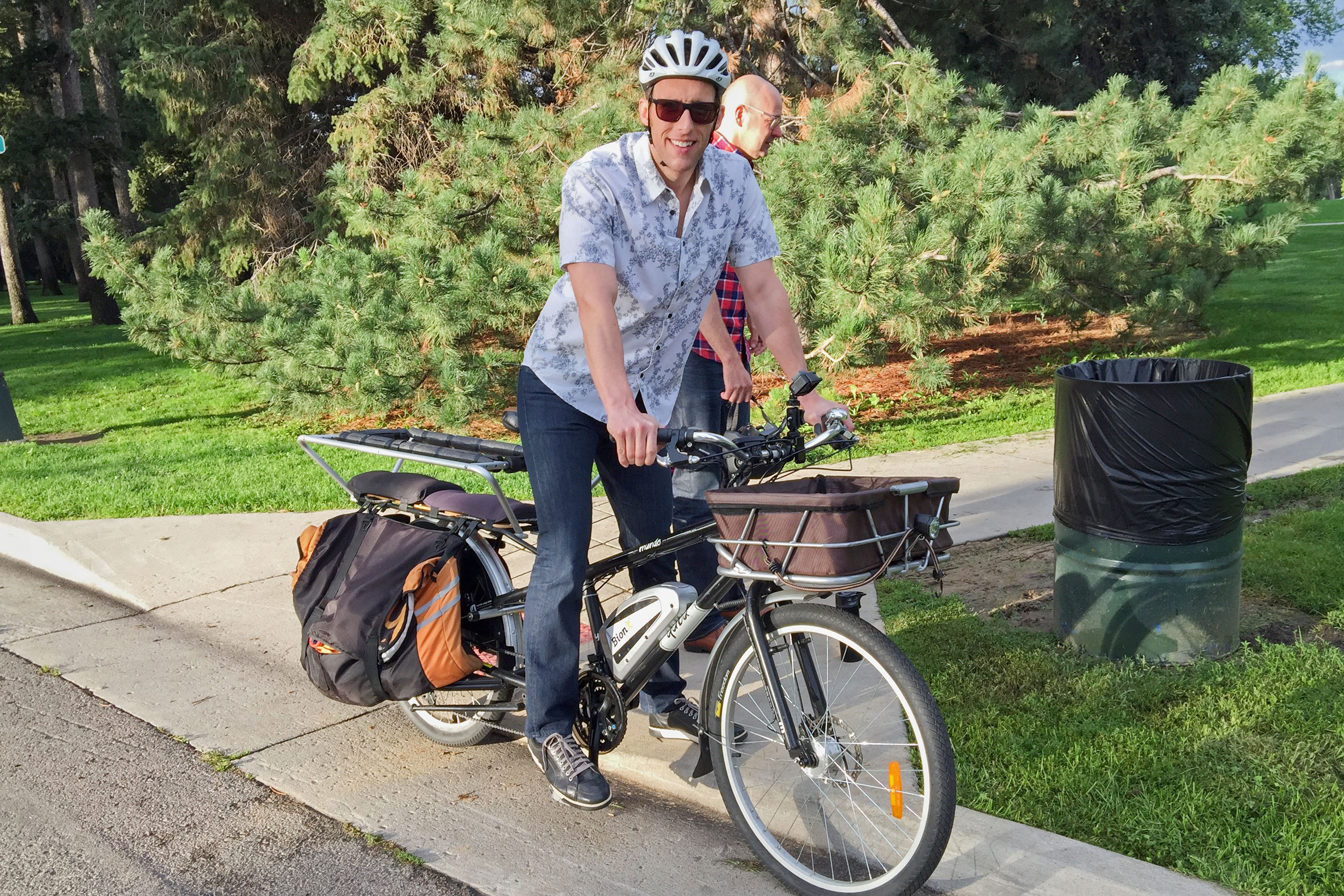 Photo: CM Ryan Warner On An E-Bike - LSmail