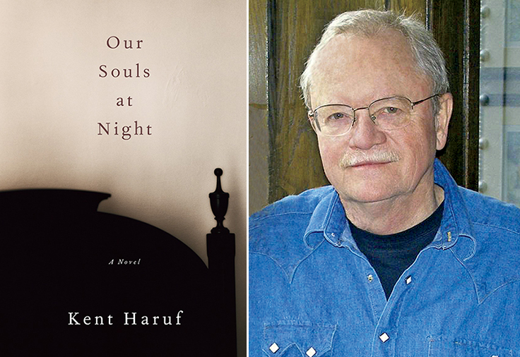 Image: Kent Haruf and book