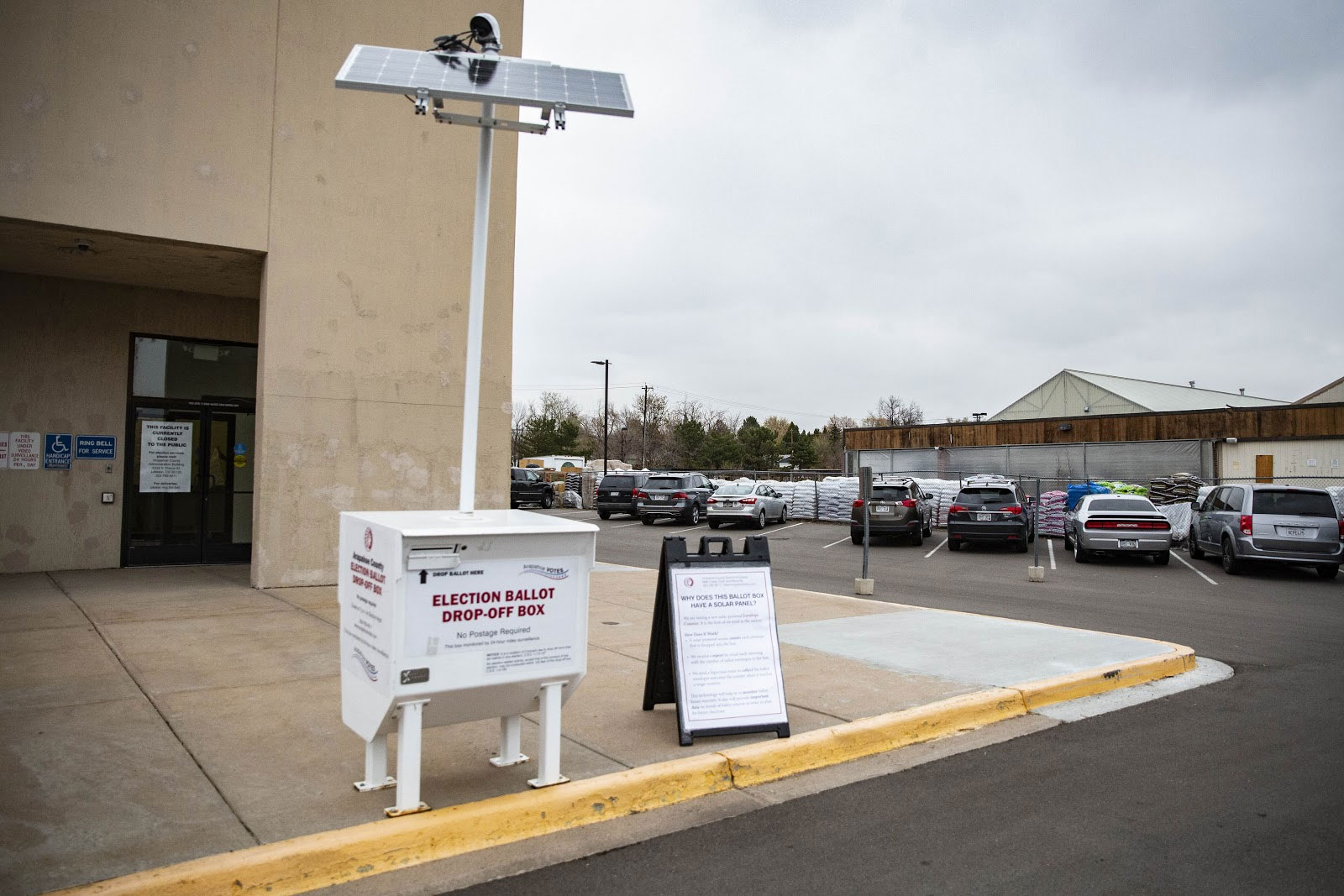 Photo: Election Day 2018 | Arapahoe Automated Ballot Drop-Off Box - NMinor