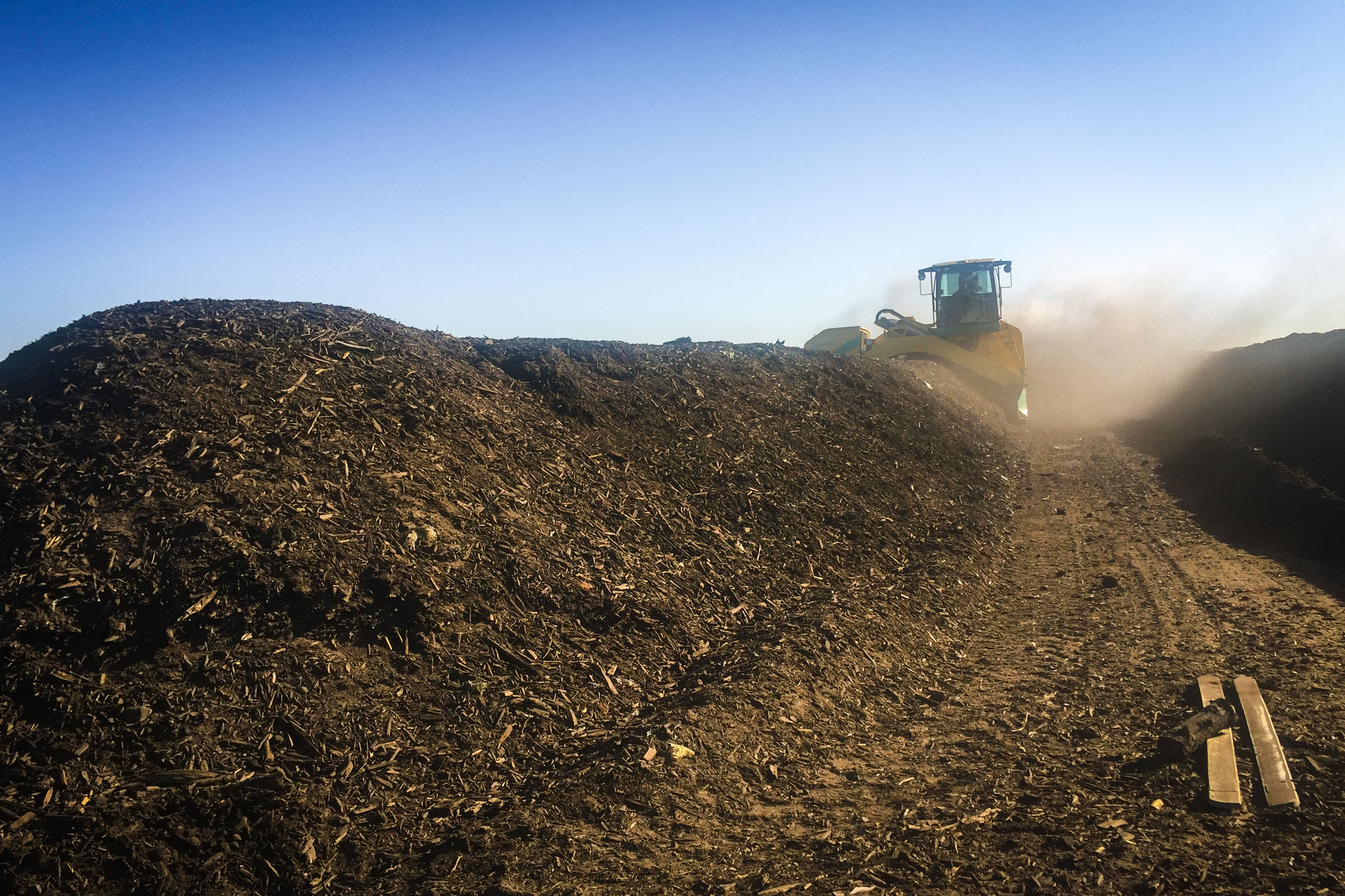 Photo: Compost Contract 2 | Compost Site - NNavarro