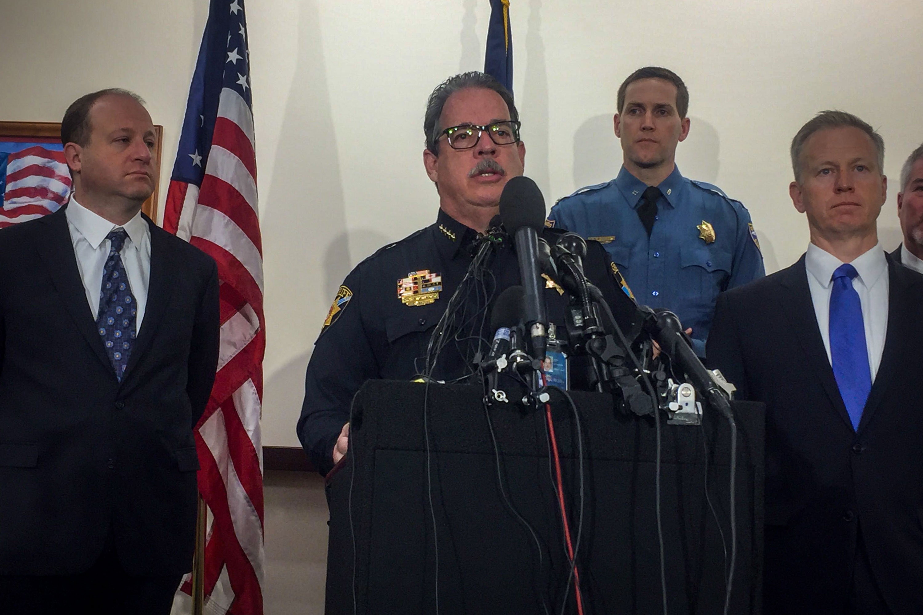 Photo: STEM School Shooting 5 | Wed Media Brief Sheriff Spurlock - NNavarro