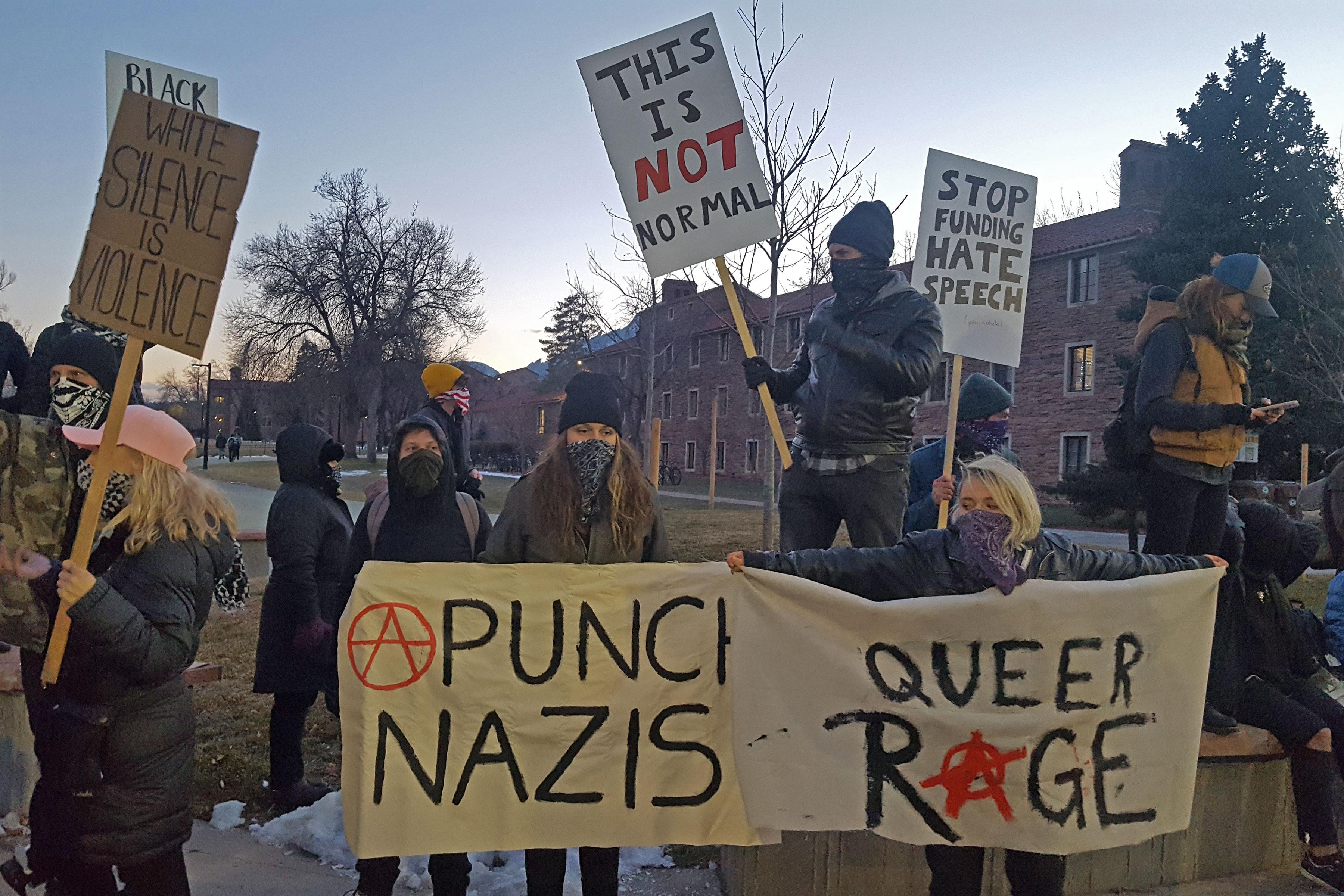 Photo: Milo CU Protesters 2 - SBrasch