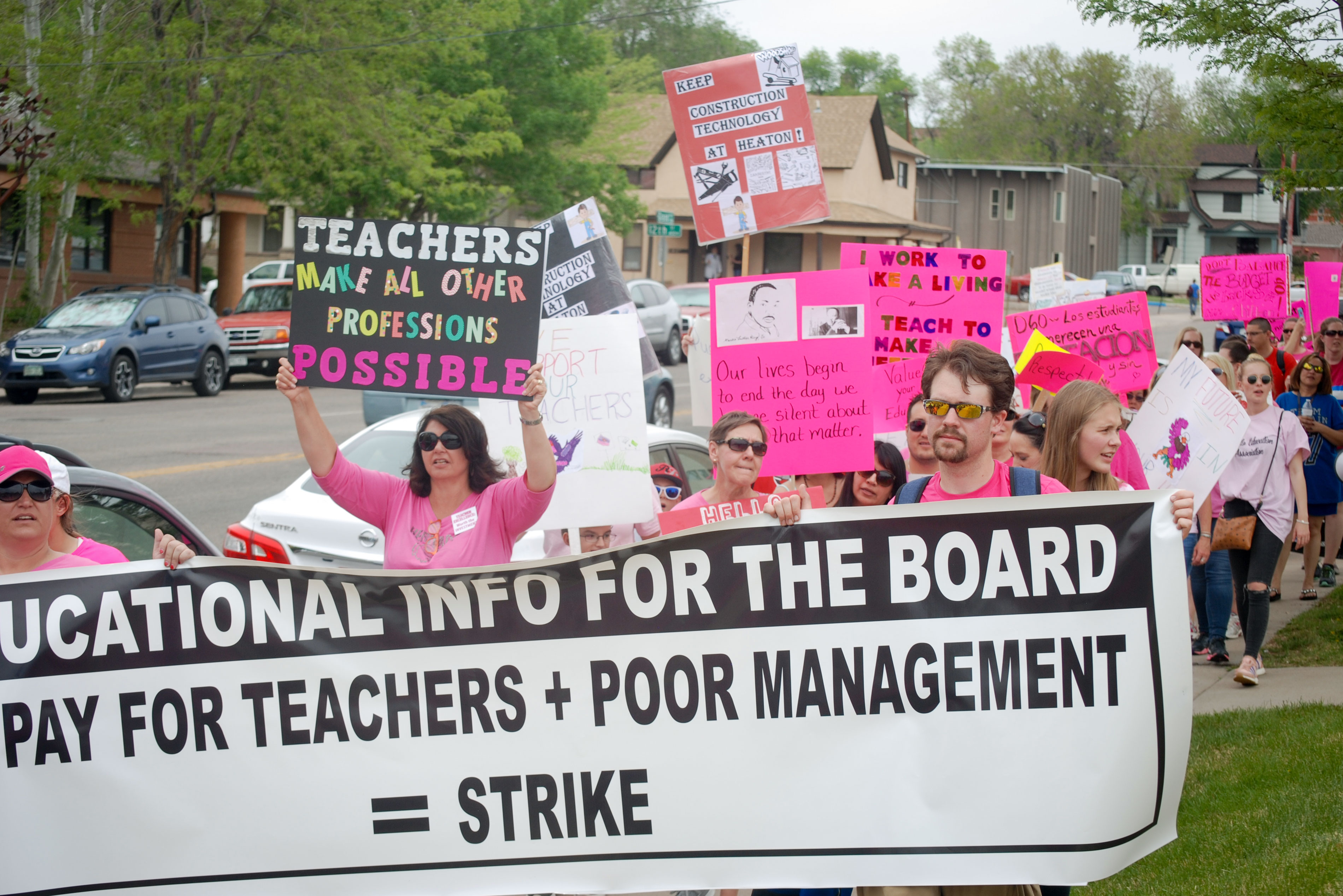 Photo: Pueblo D60 Teacher Strike 4 - SLewis