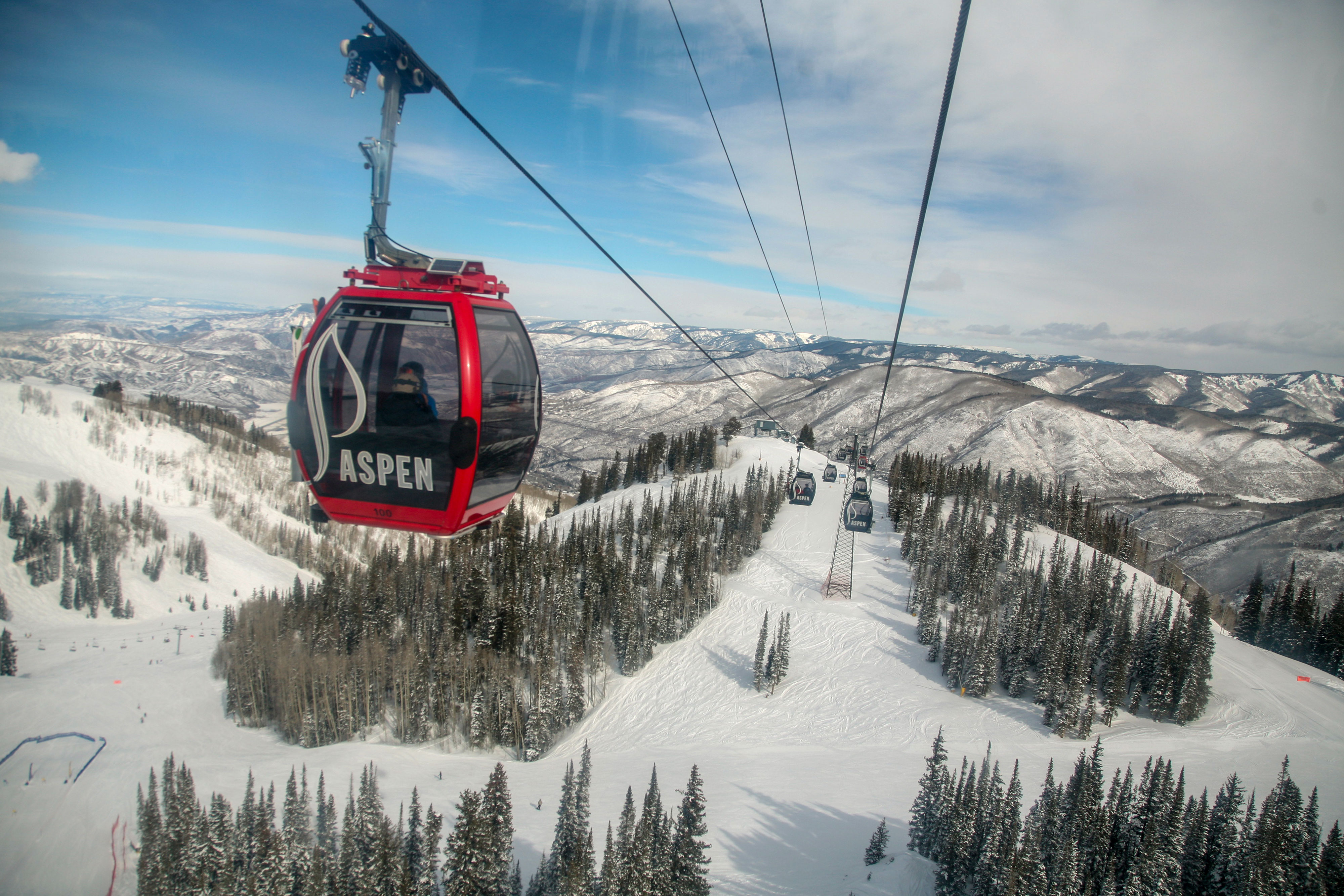 While Aspen has been a skiing destination since the 1940s, the opening of its Silver Queen Gondola in 1986 helped its appeal explode. It cut the time it took to get up the mountain and shielded increasingly wealthy visitors from the elements.