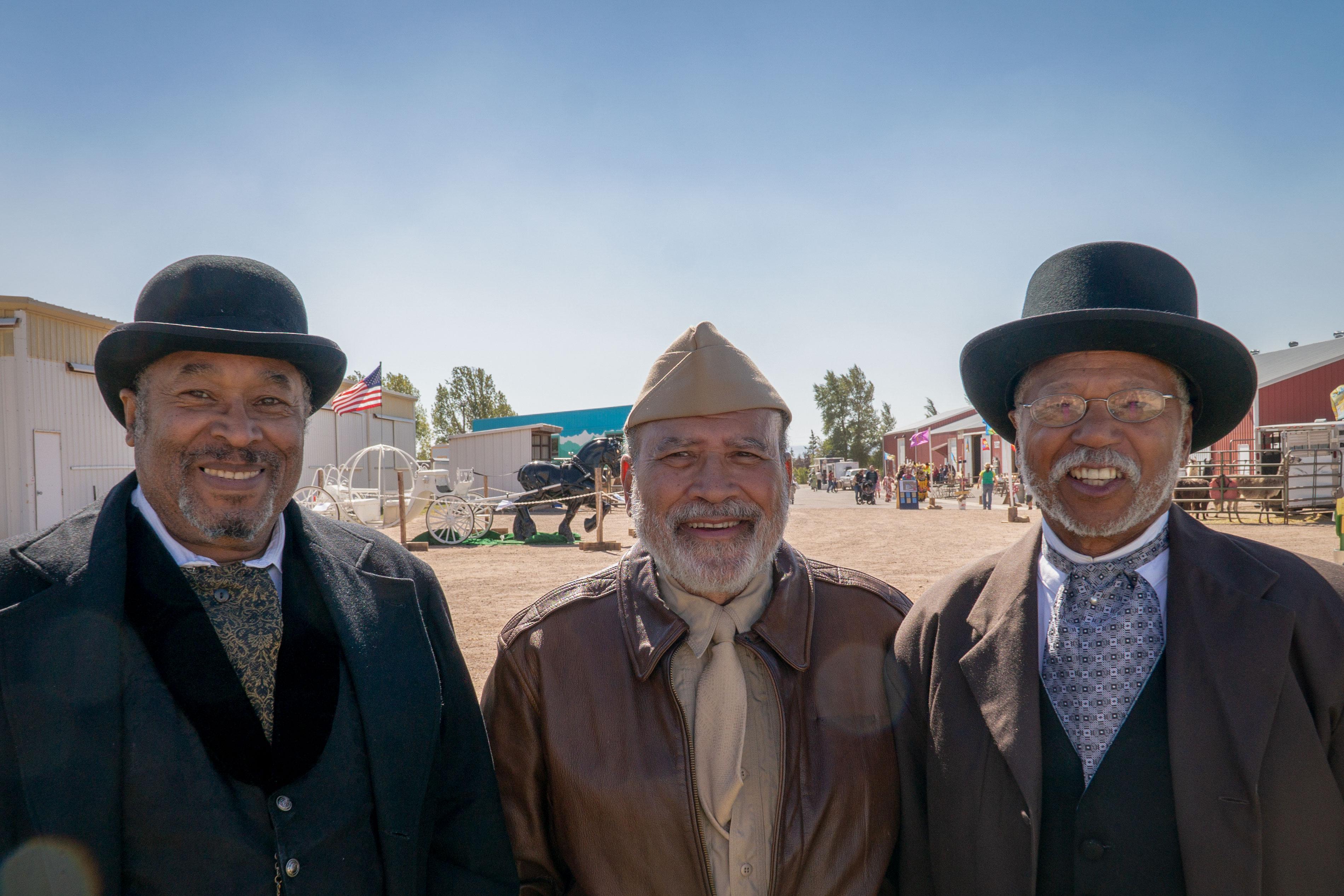 Photo: Black American West Reenactors 1 | Clark, Thomas and Shepard - SWolf