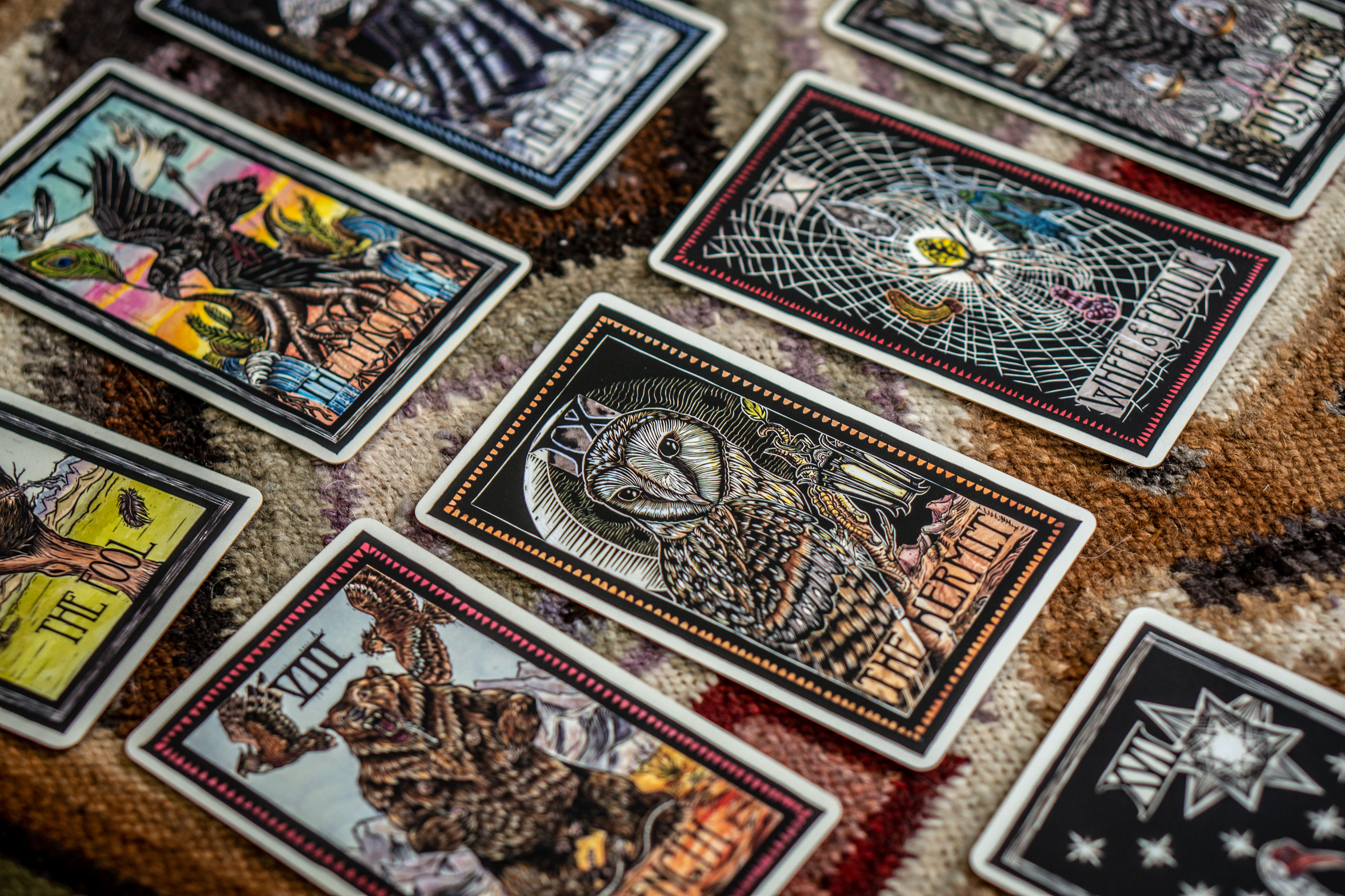 Photo: Brady Tarot Obsessed 1 | The Hermit Card Close Up - SWolf