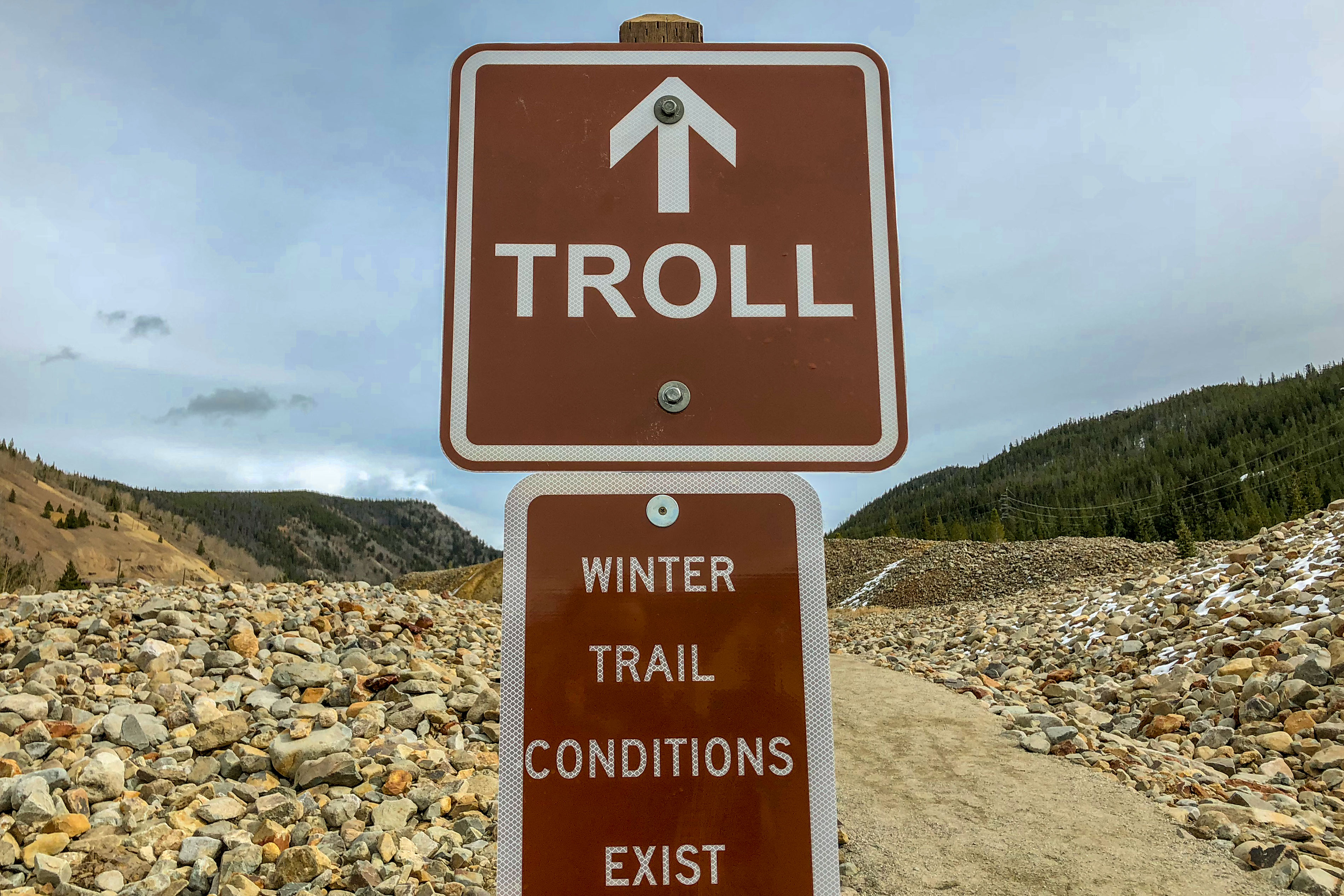 Photo: Breck Troll 3 | Isak Heartstone Trail Sign - SWolf