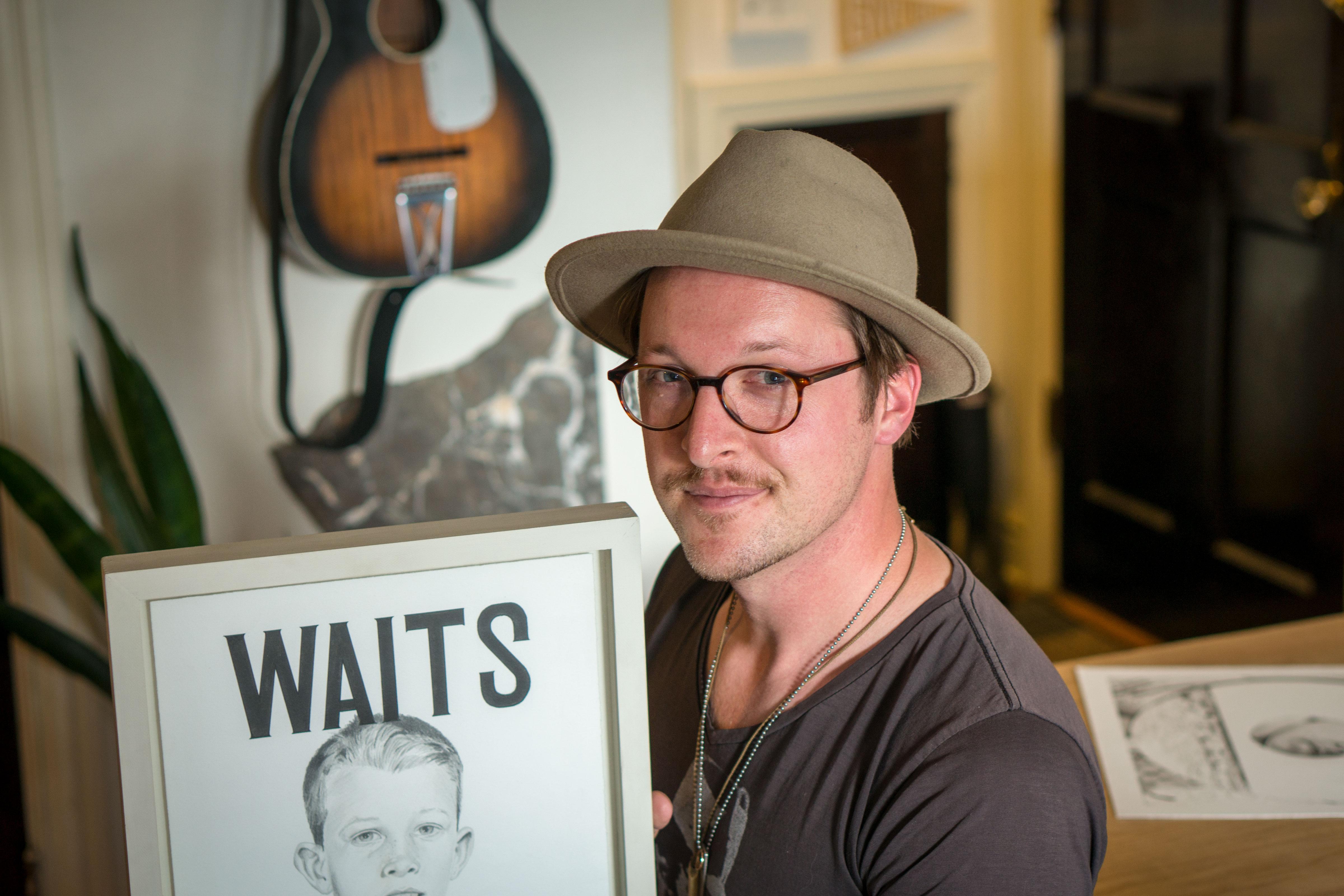 Photo: Tom Waits Artist 1   Travis Hetman - SWolf