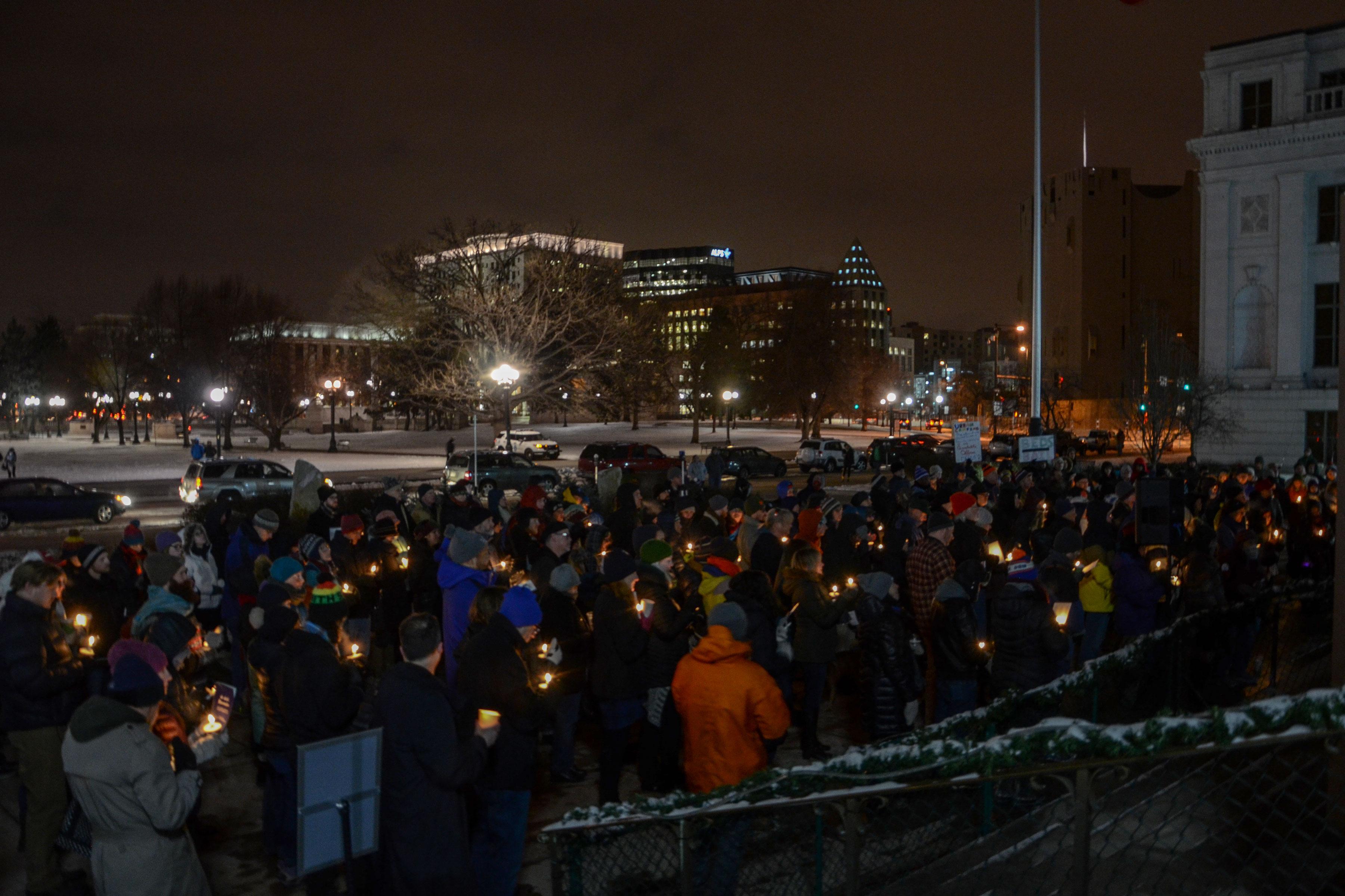 Photo: Denver Homeless Vigil 2017 2 | Crowd - XMcMahon