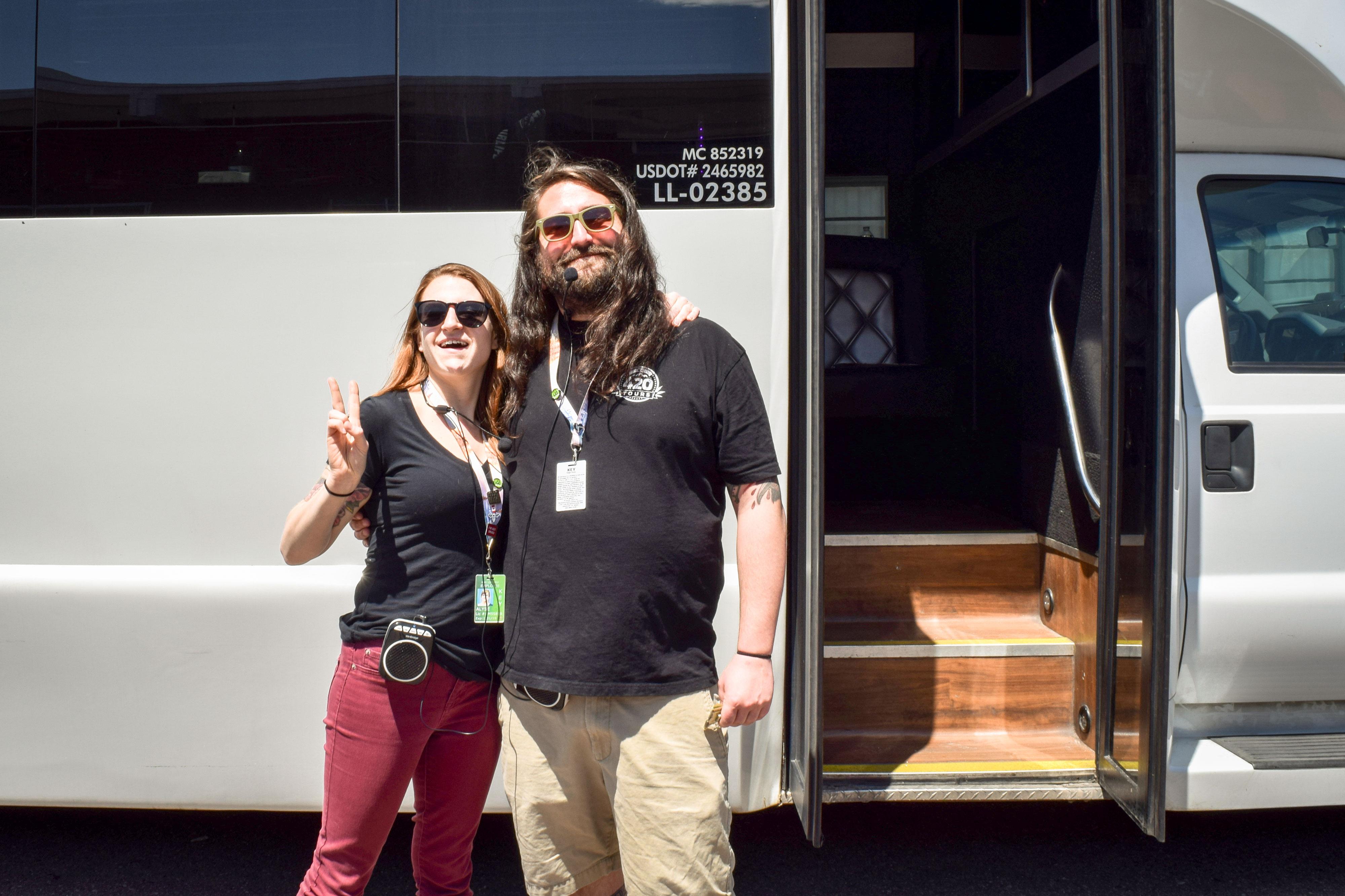 Photo: Pot Bus 1 | Alyse Morgan and Gage Dunn - XMcMahon