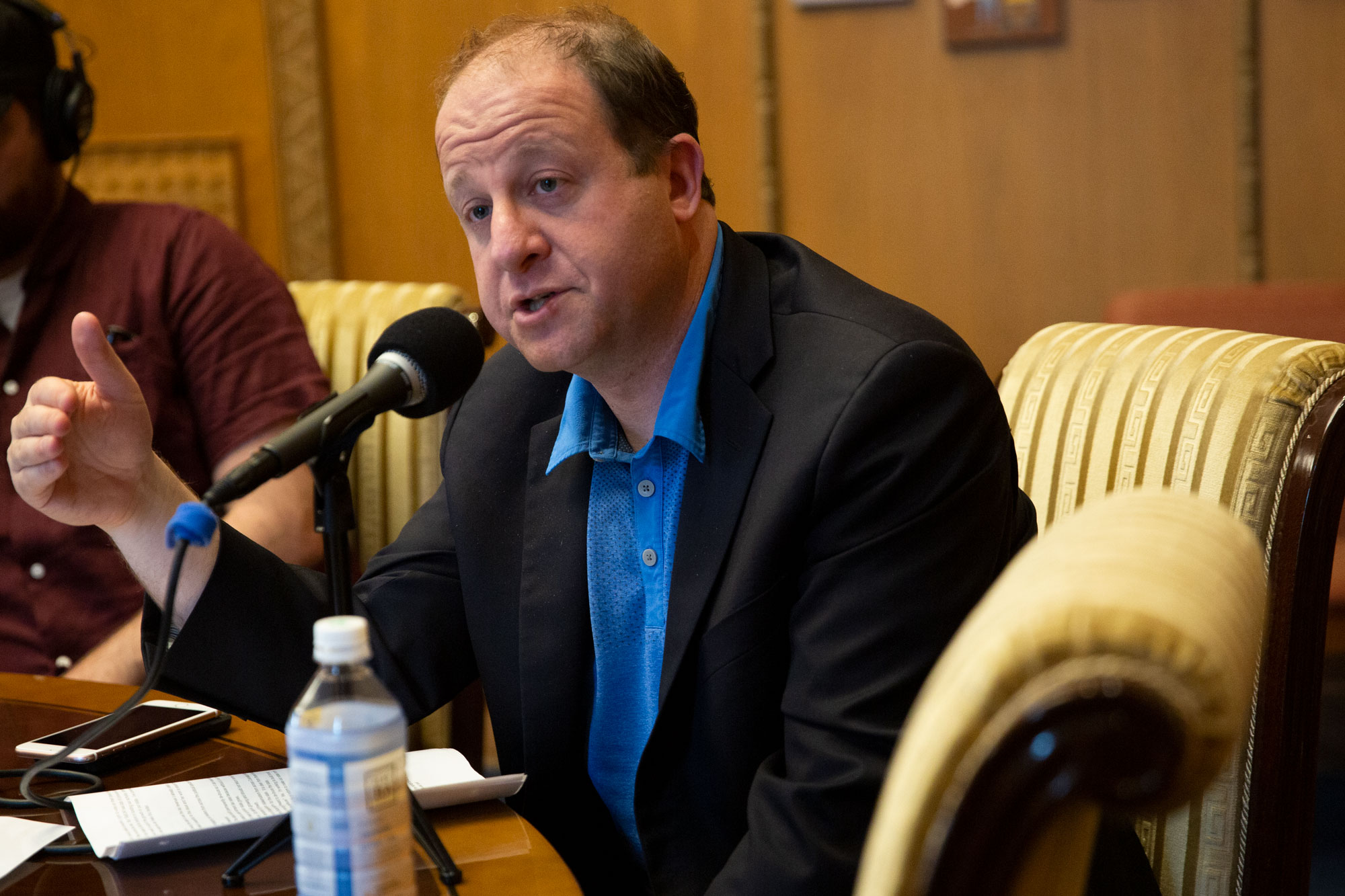 Photo: Governor Jared Polis 061719 CM Interview 4