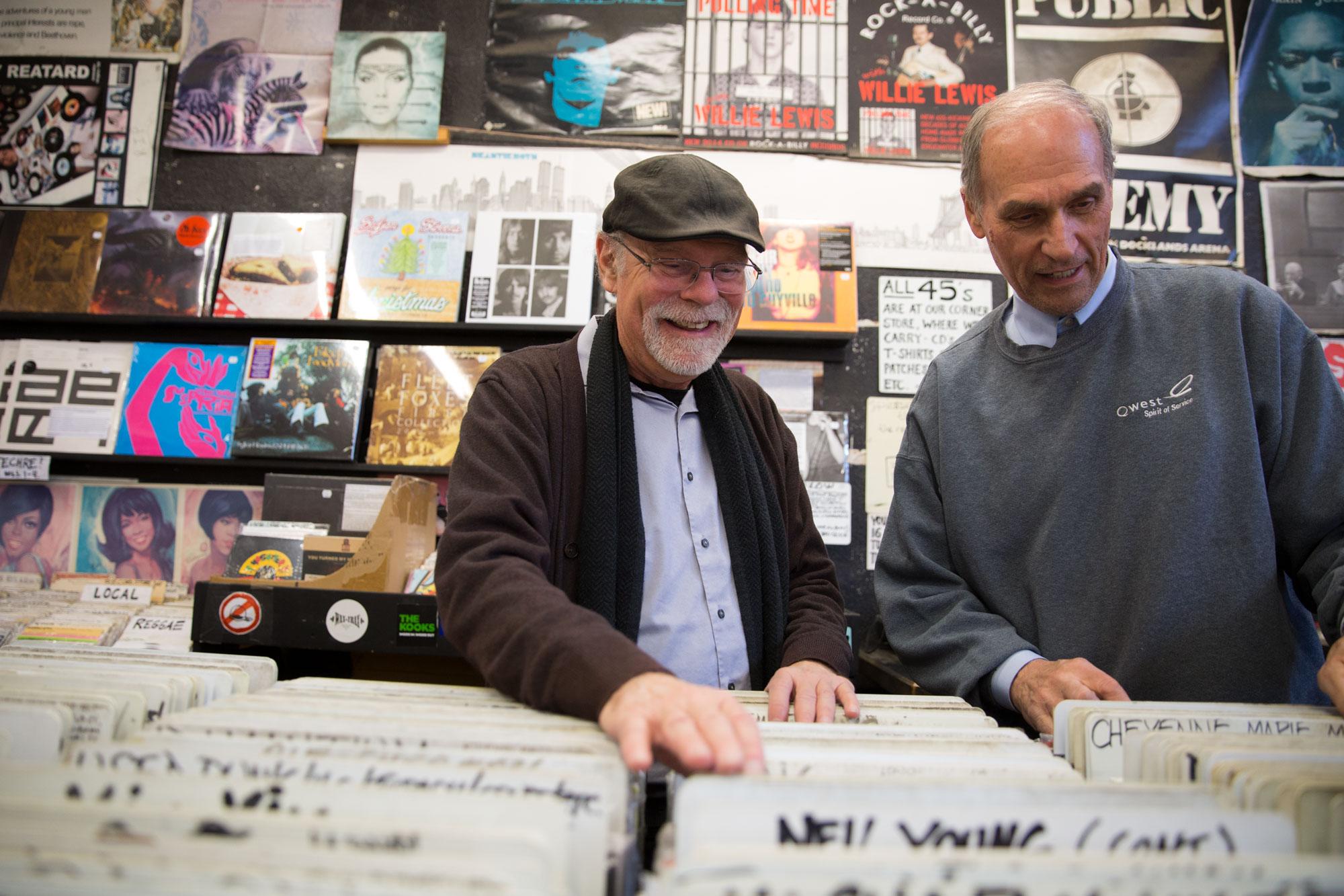 Photo: Wax Trax Records 1 | Duane Davis and Dave Stidman