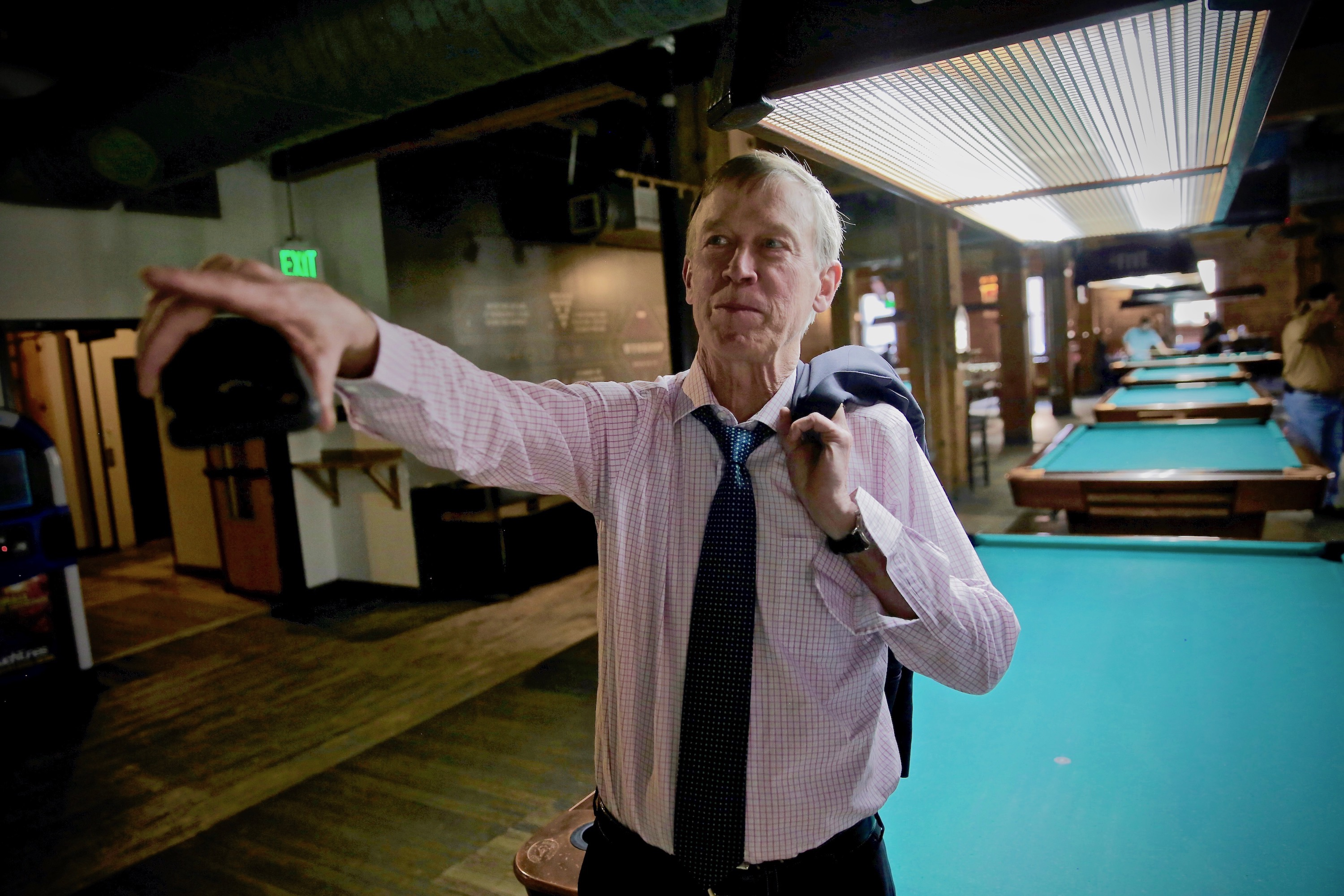 Hickenlooper Talks Legacy And Future Aspirations At The Place Where It All Began