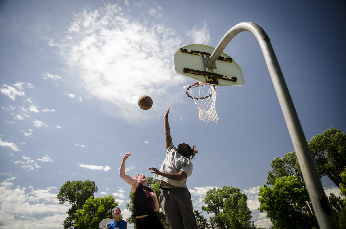 Photo: Craig coal 9 | Basketball in town