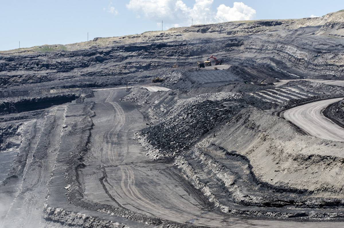 Photo: Craig coal 19 | Colowyo Coal active pit close