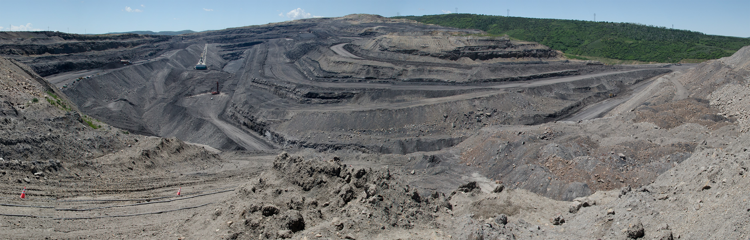 Photo: Craig coal 20 | Active pit wide