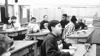 Photo: classroom, school discipline