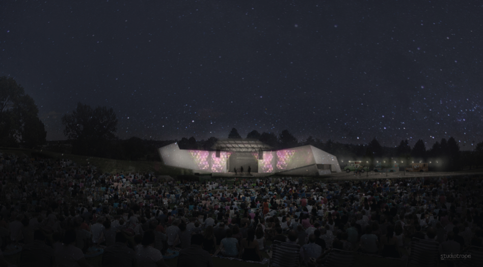 Photo: Levitt Pavilion design concept