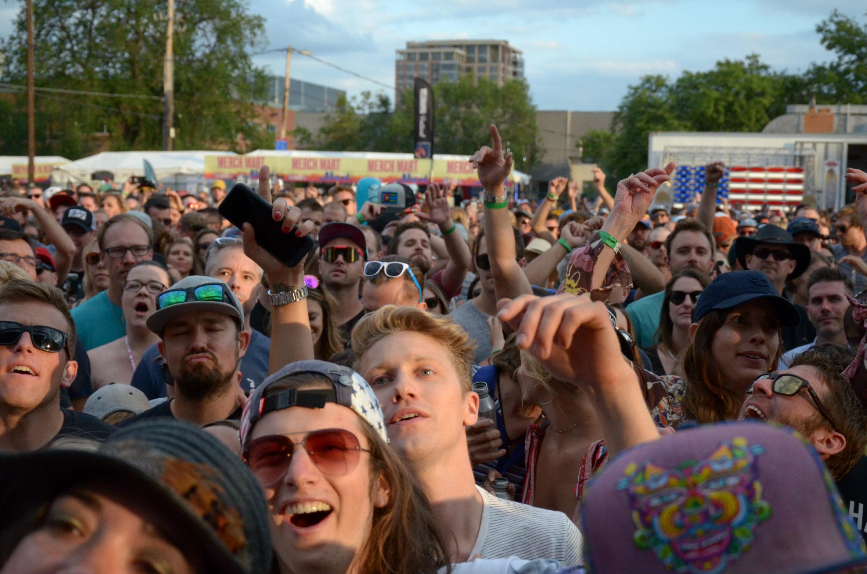 Photo: Westword Music SHowcase 2017 crowd
