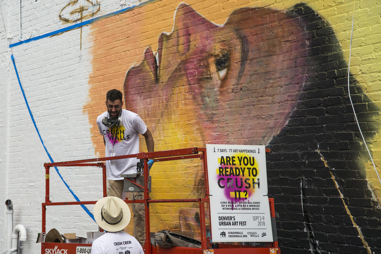Photo: Crush Walls Urban Art RiNo Denver Muralists 1