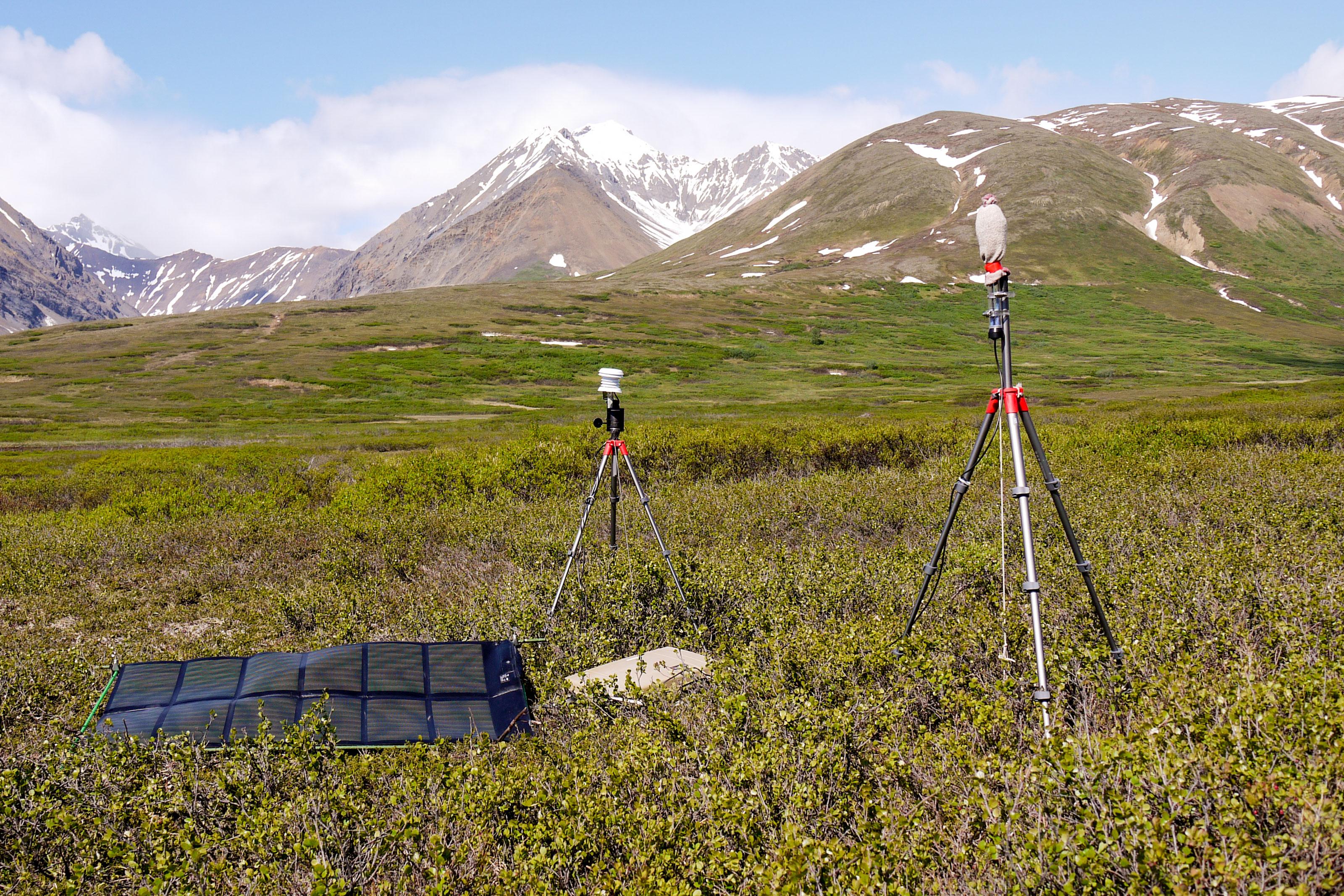 Photo: CSU Listening Lab 4 | Recording Device - NPS