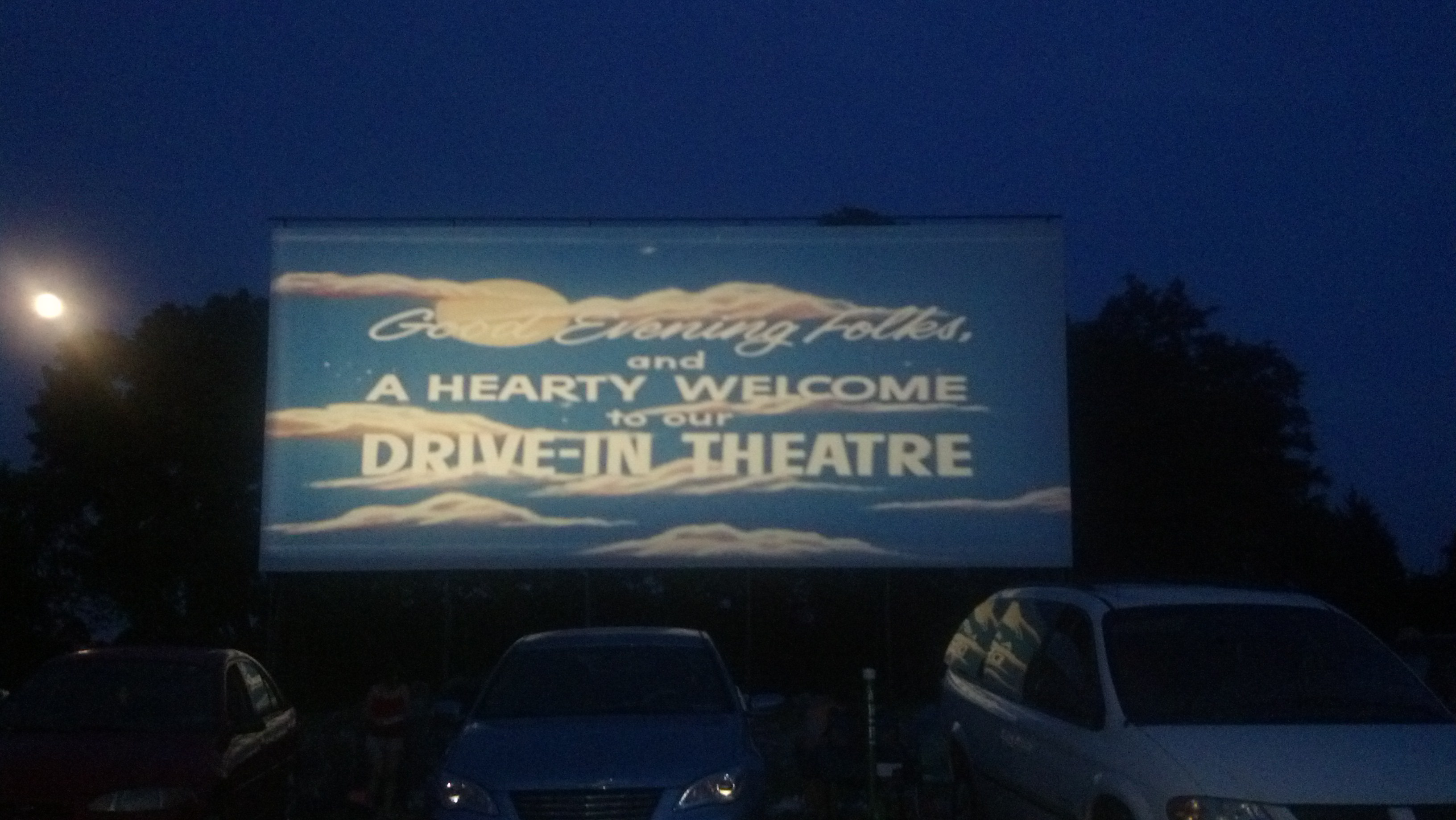Photo: Drive-in movie theater