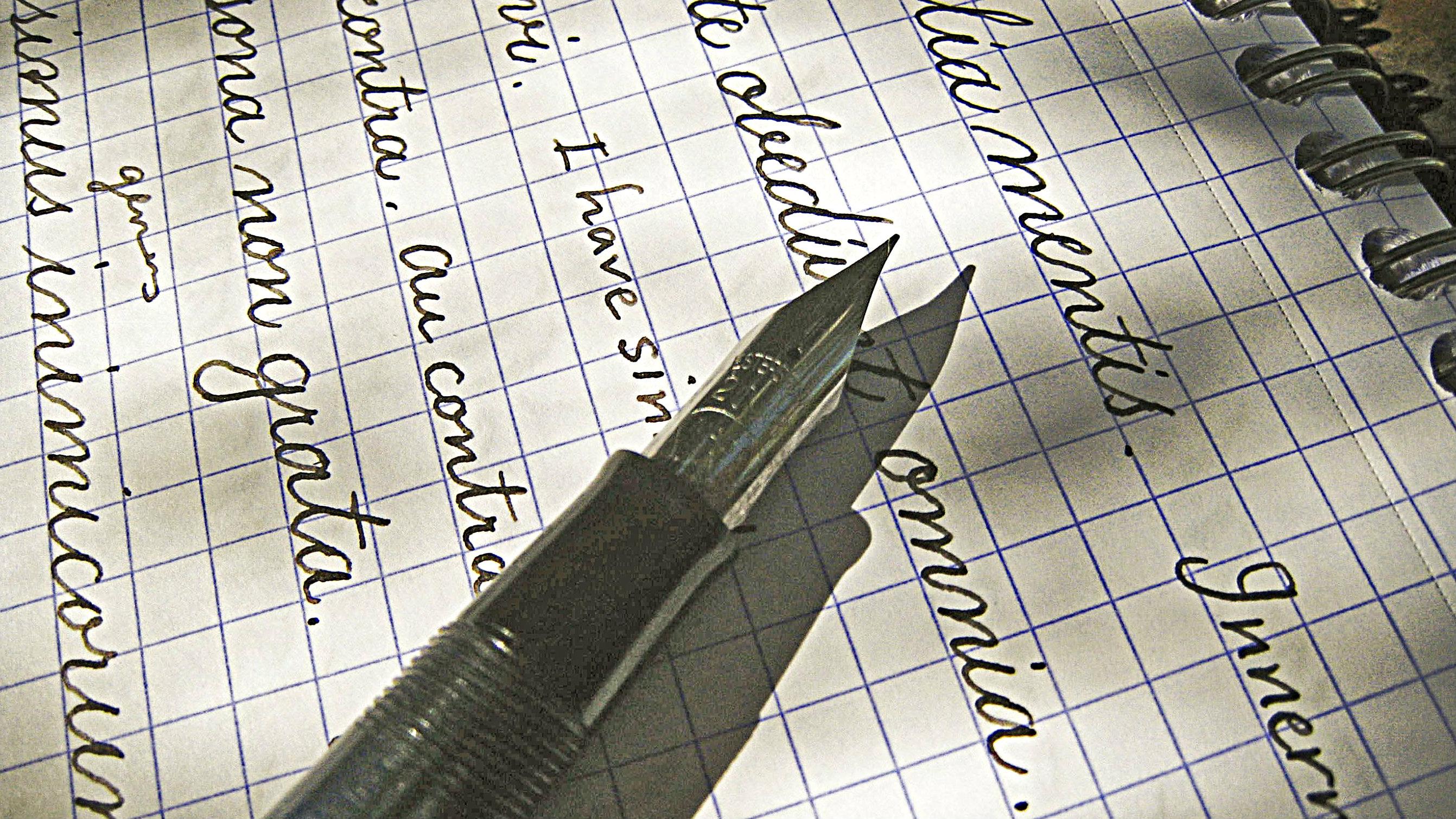 Photo: handwriting 2