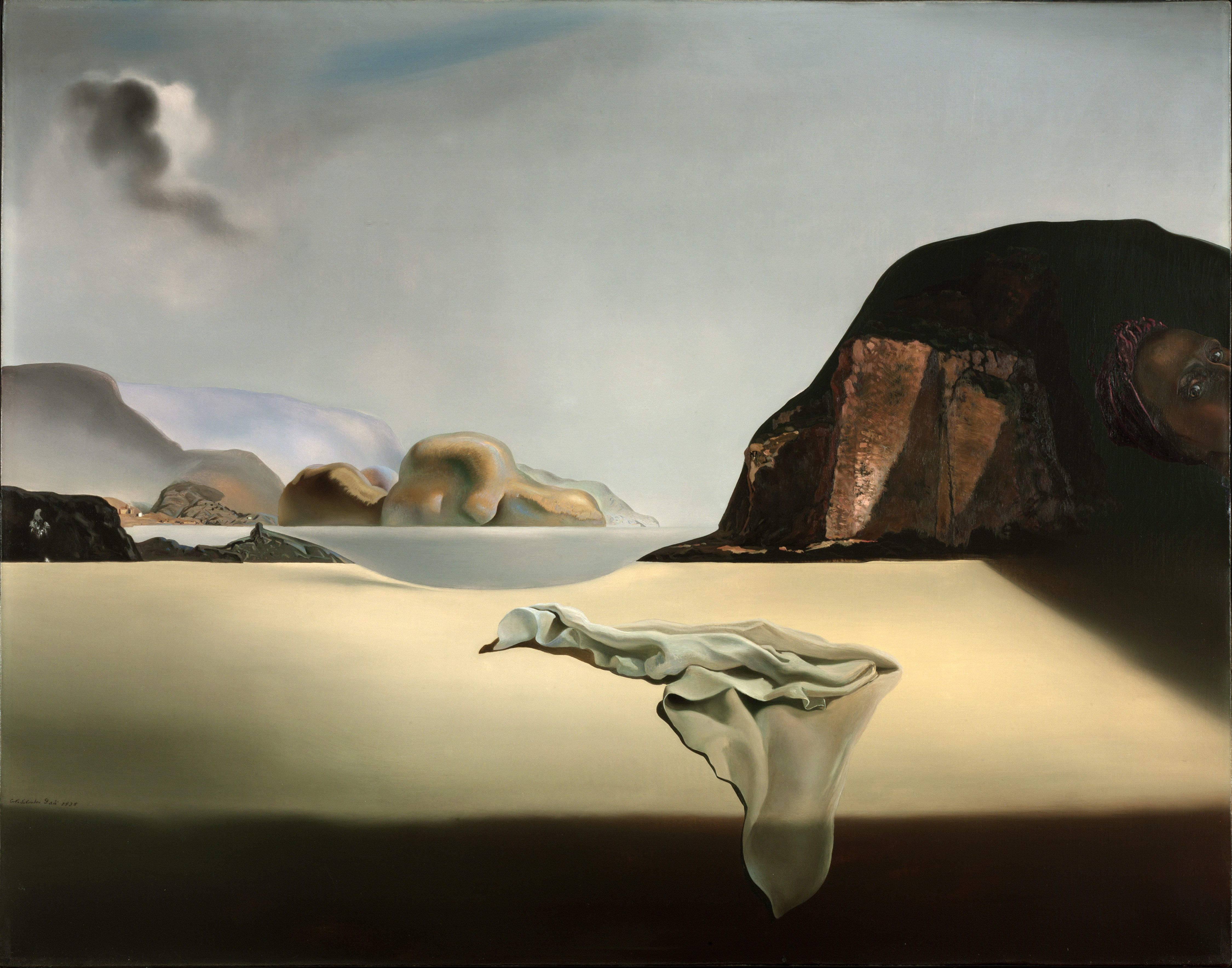 Photo: 'The Transparent Simulacrum of the Feigned Image' by Salvador Dali
