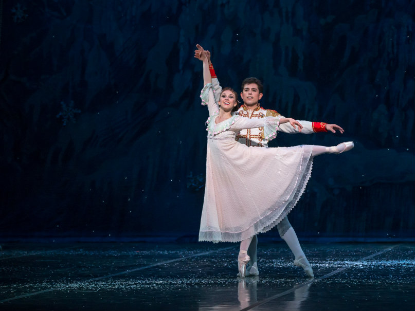 Photo: Colorado Ballet 2016 Nutcracker pair