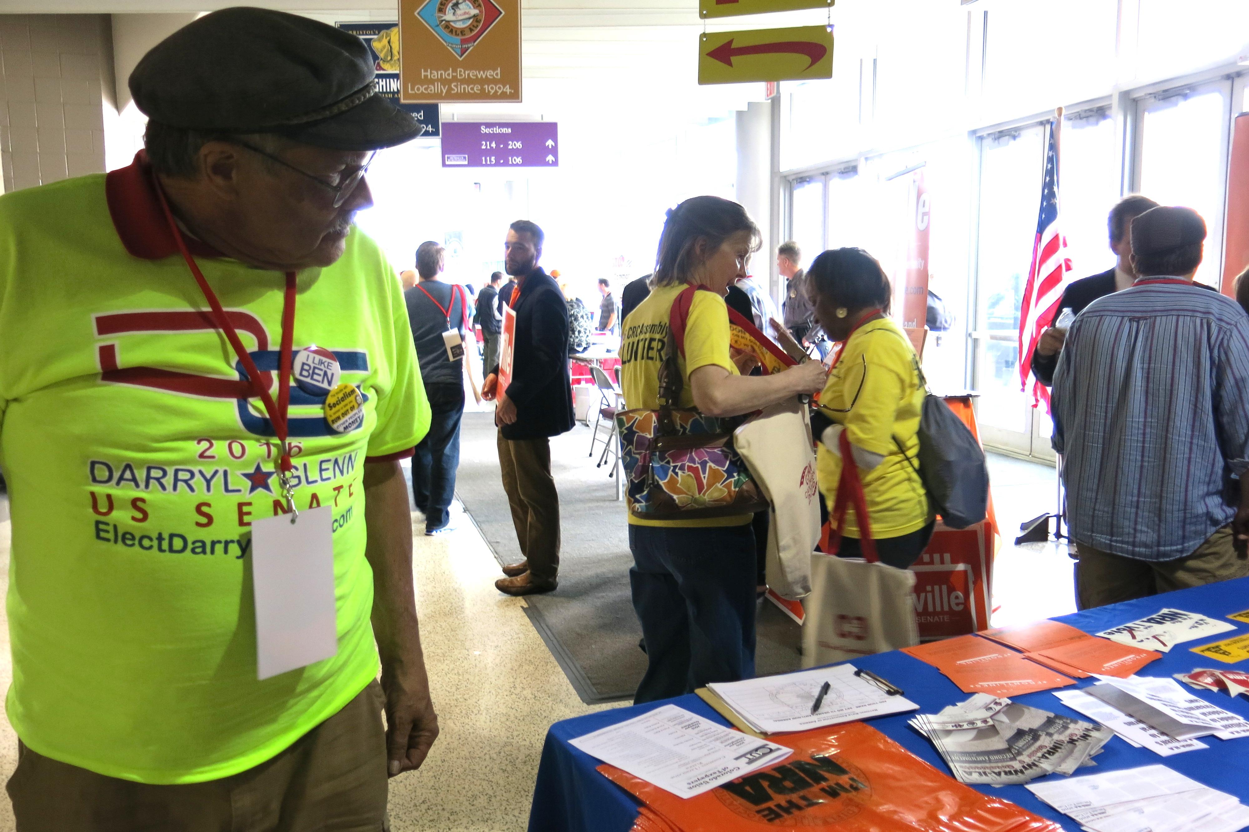 Photo: Darryl Glenn supporter, CO GOP convention