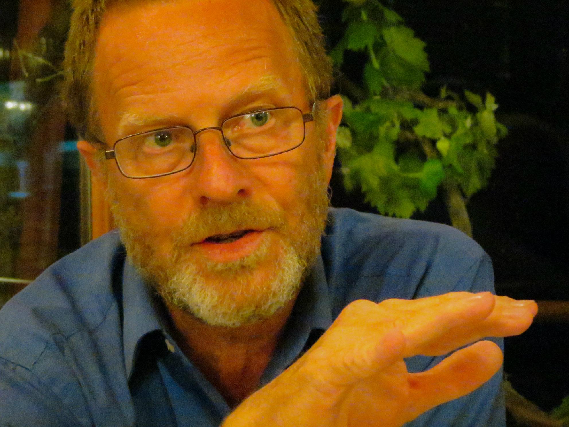 Photo: Colorado poet laureate David Mason