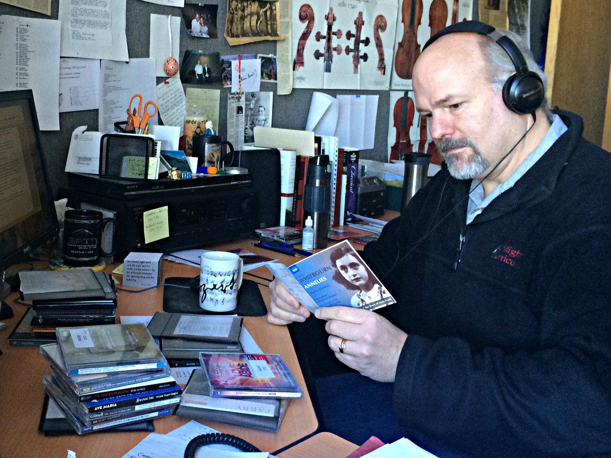 David Rutherford prepares Best of Sacred Classics 2013