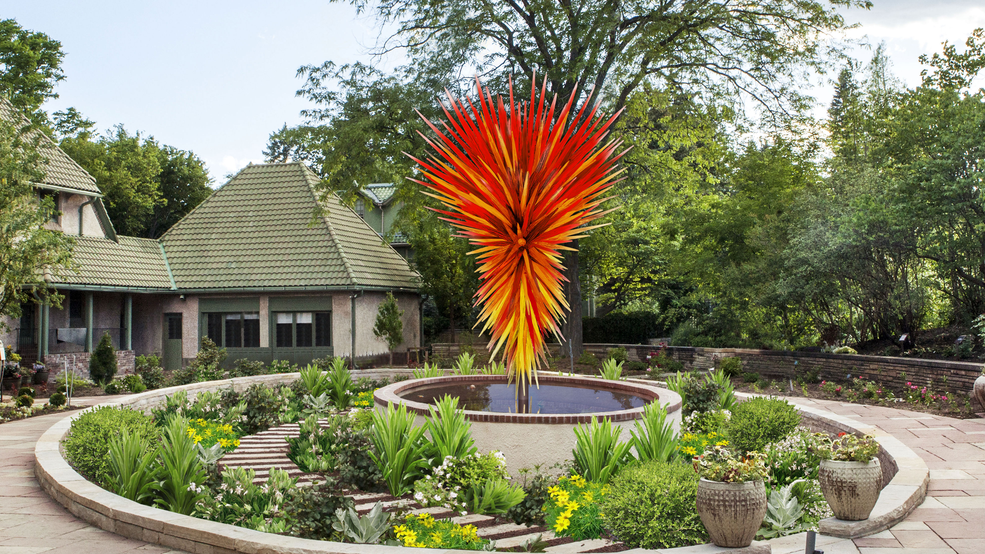 Photo: Chihuly 'Colorado' for Botanic Gardens
