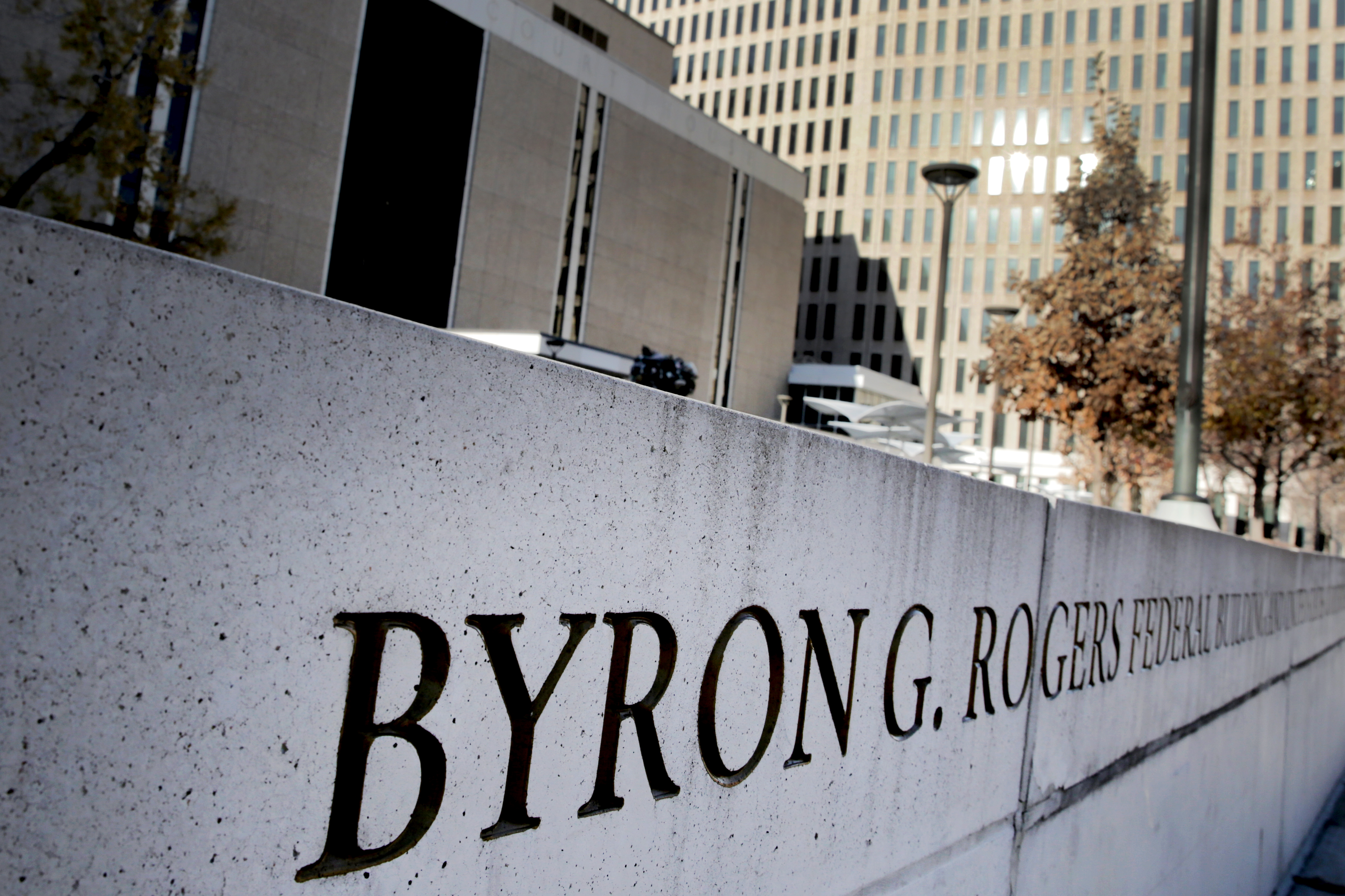 Photo: Byron Rogers Federal Court House 1 Denver November 2018