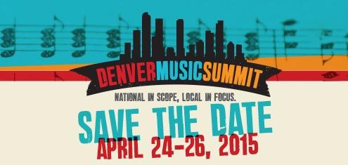 photo: Denver Music Summit 2015 logo