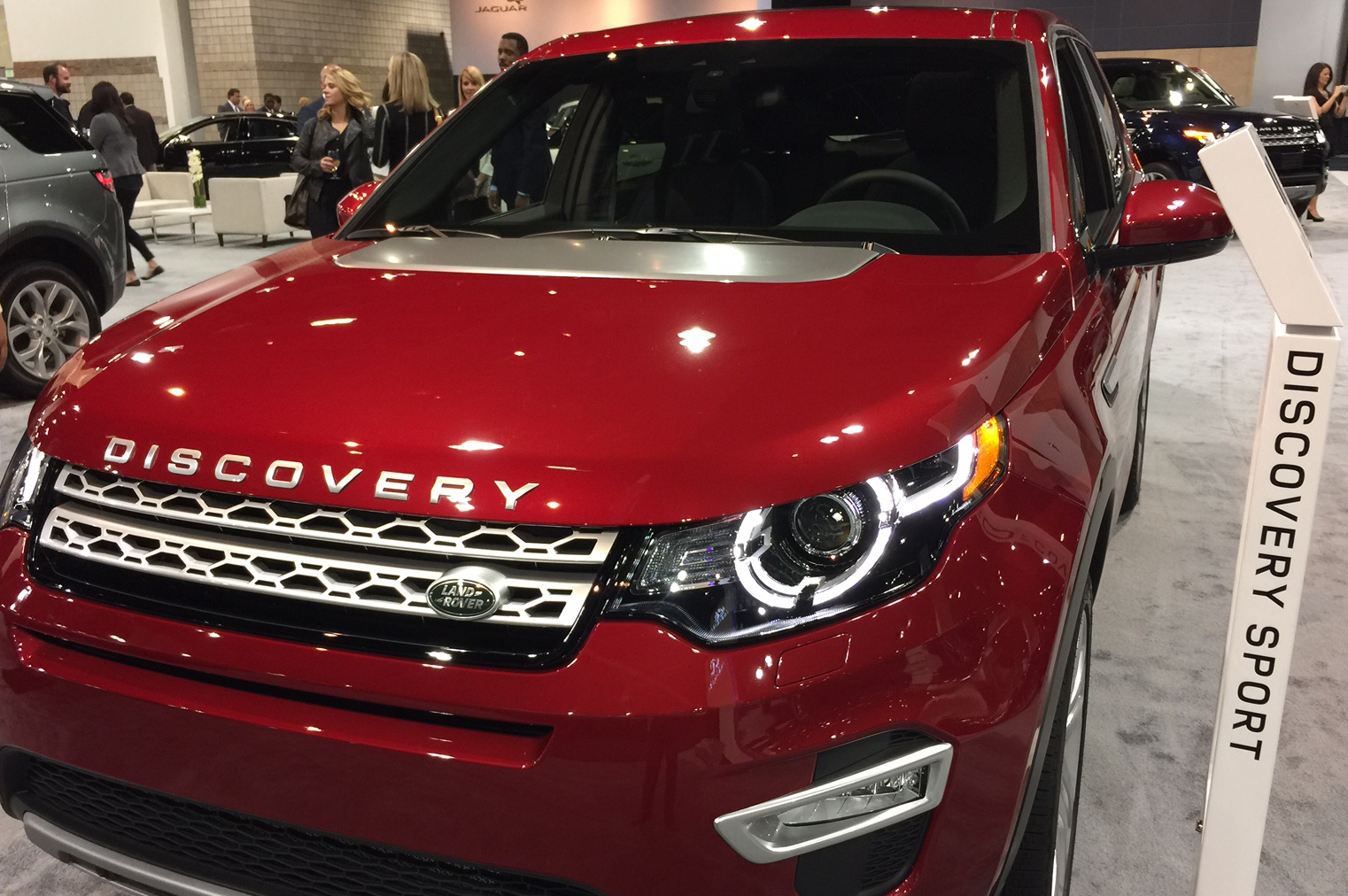 Photo: 2016 Landrover Discovery Sport