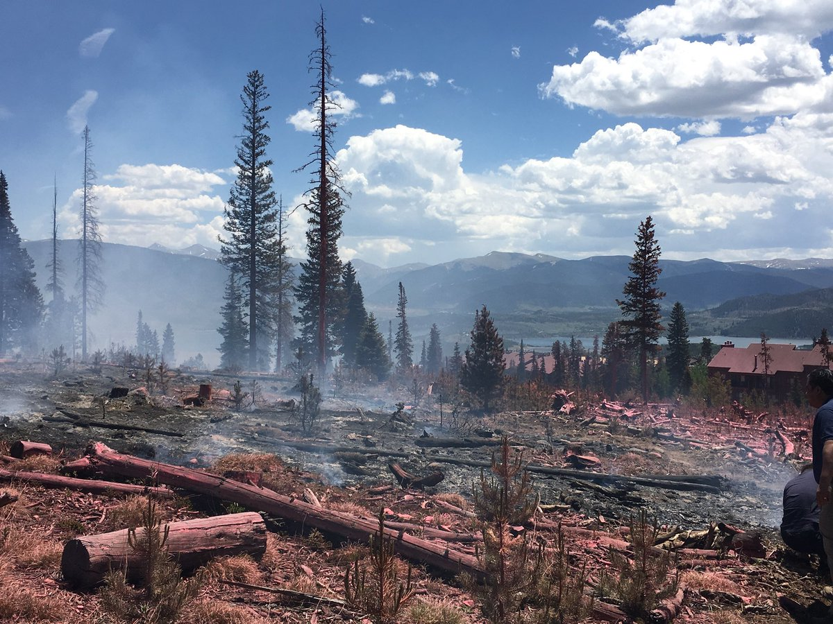 Clone of Photo: Buffalo Fire Silverthorne Summit County