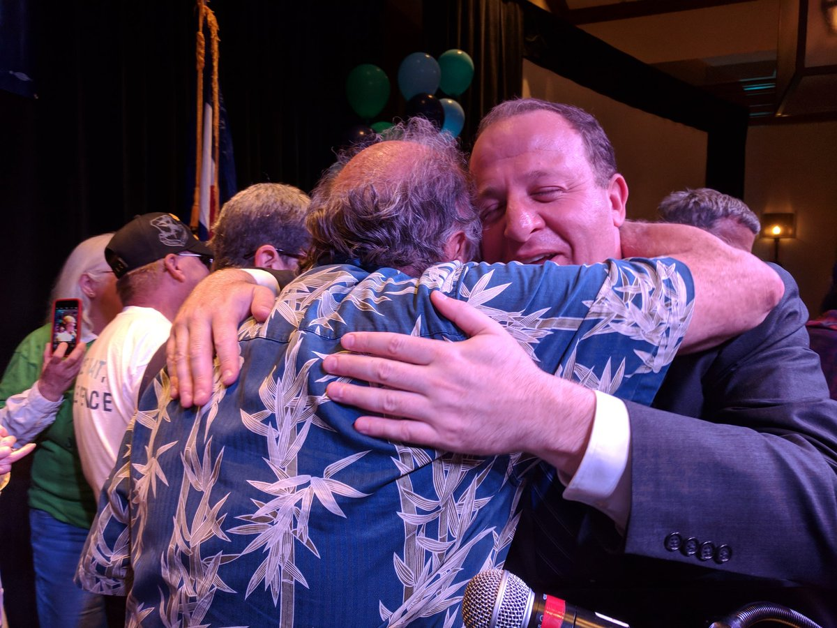 Photo: Polis Primary Election Night