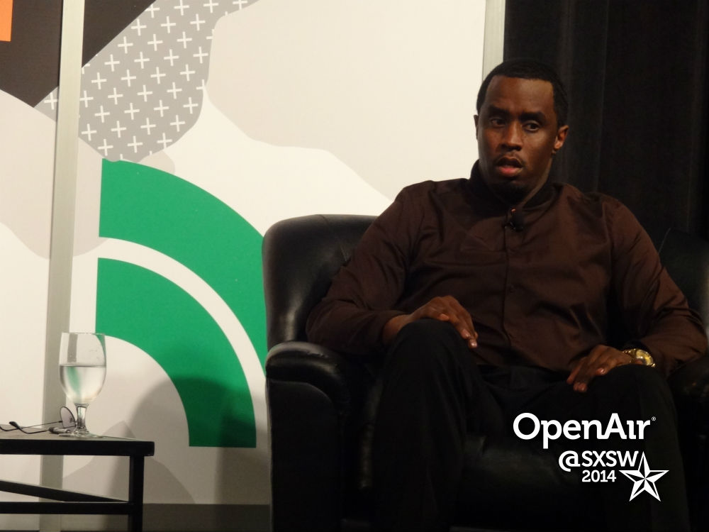 photo: Diddy at SXSW