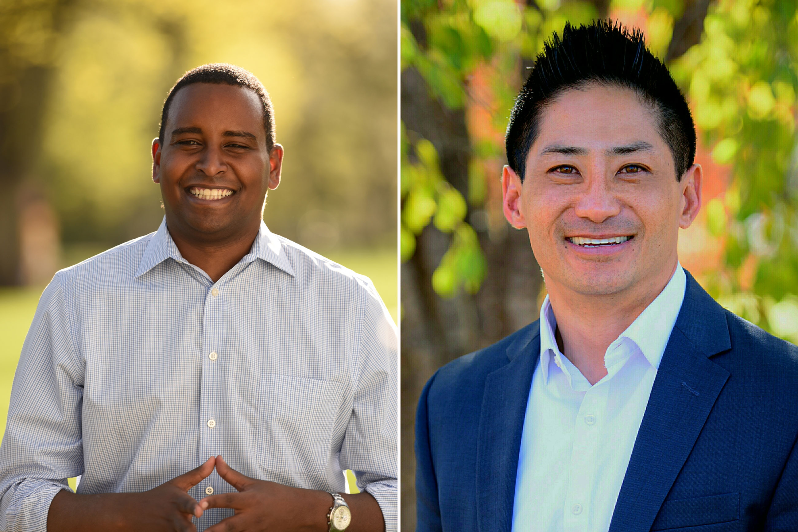 Photo: Joe Neguse and Paul Yu