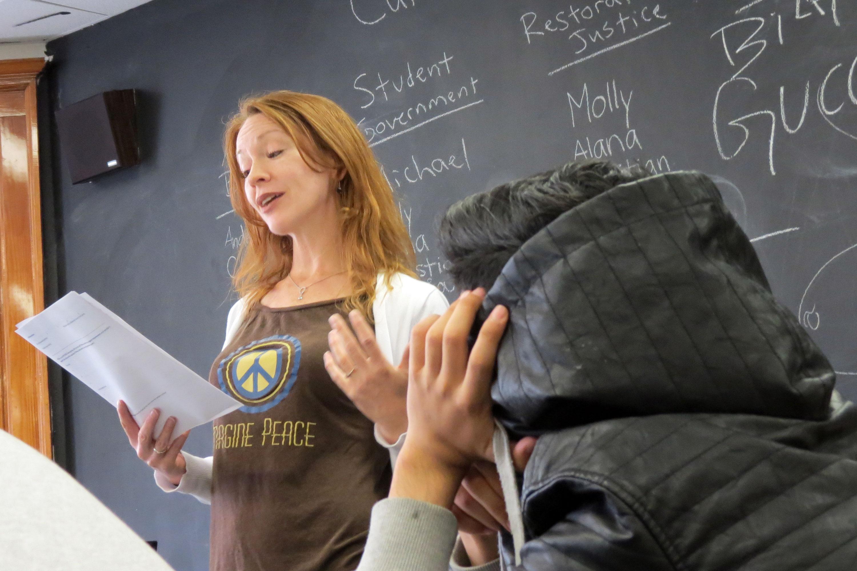 Photo: Globeville Student Podcast 2 | DMHS Teacher Balkcom - JBrundin