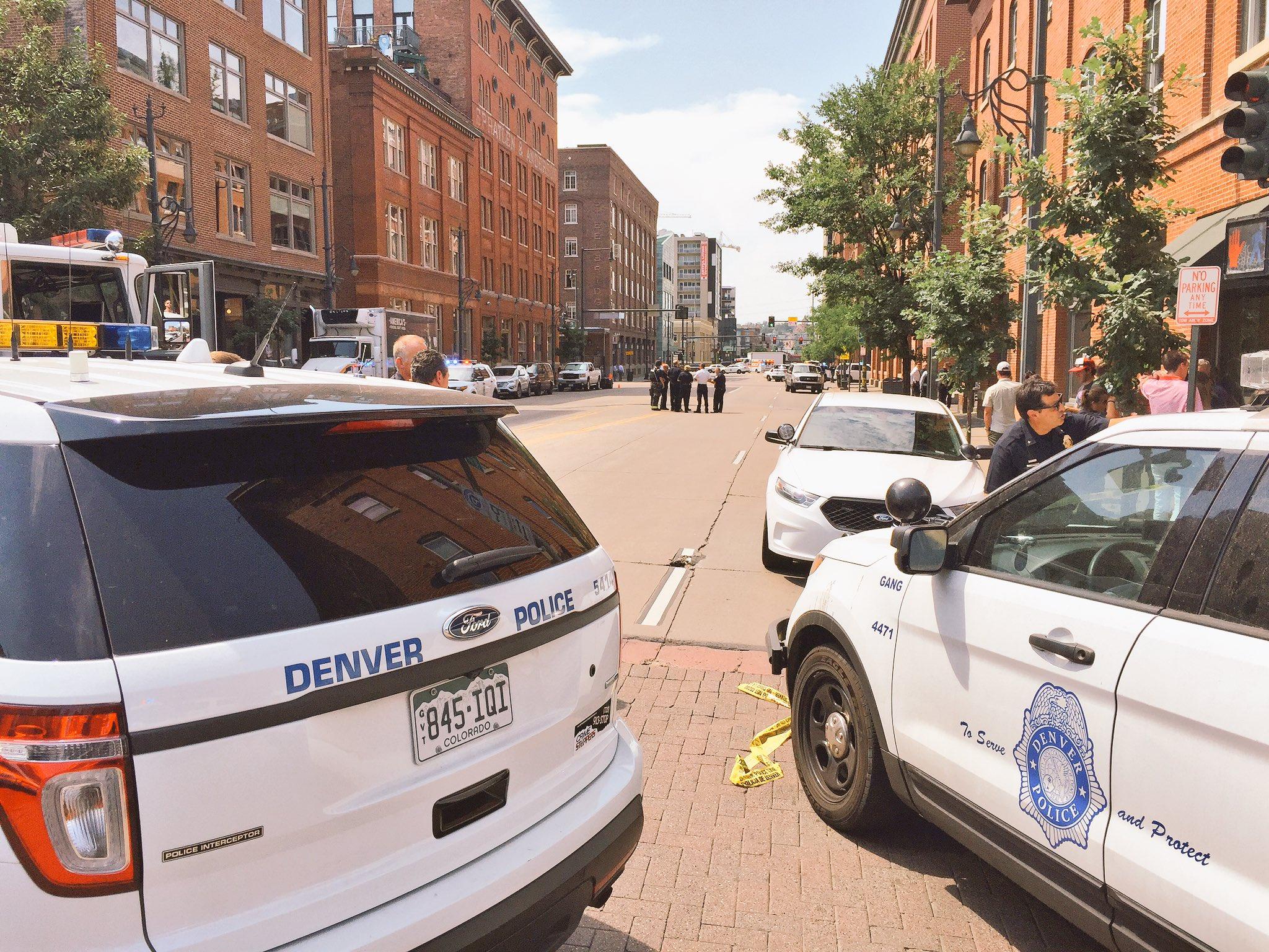 Photo: Downtown Denver shooting (DPD)