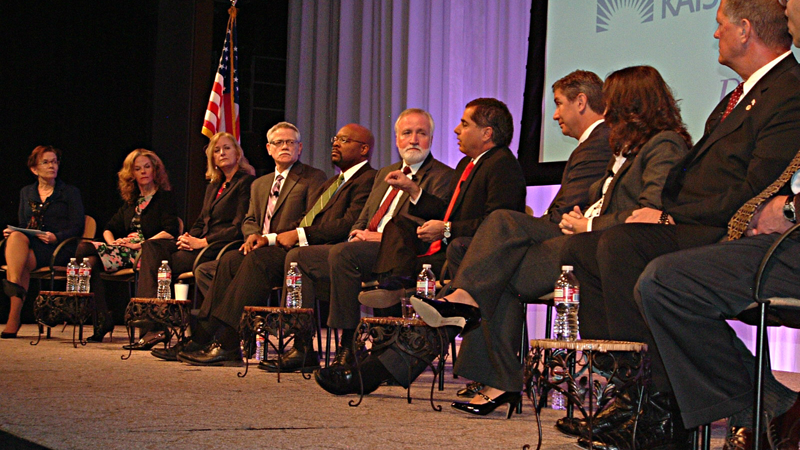 Photo: School superintendents at Business and Education Forum