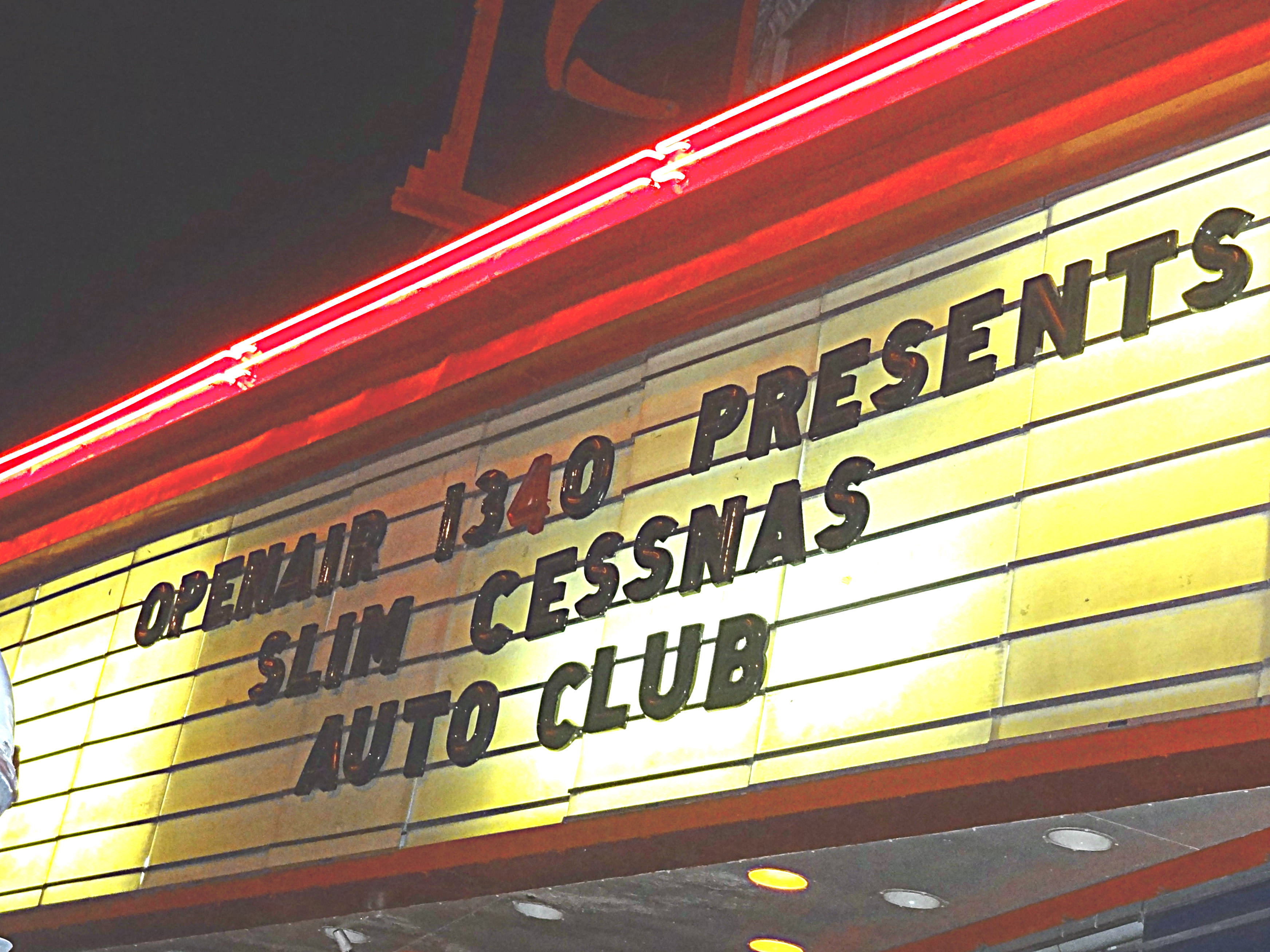 photo: Spend New Year's with OpenAir and Slim Cessna's Auto Club!
