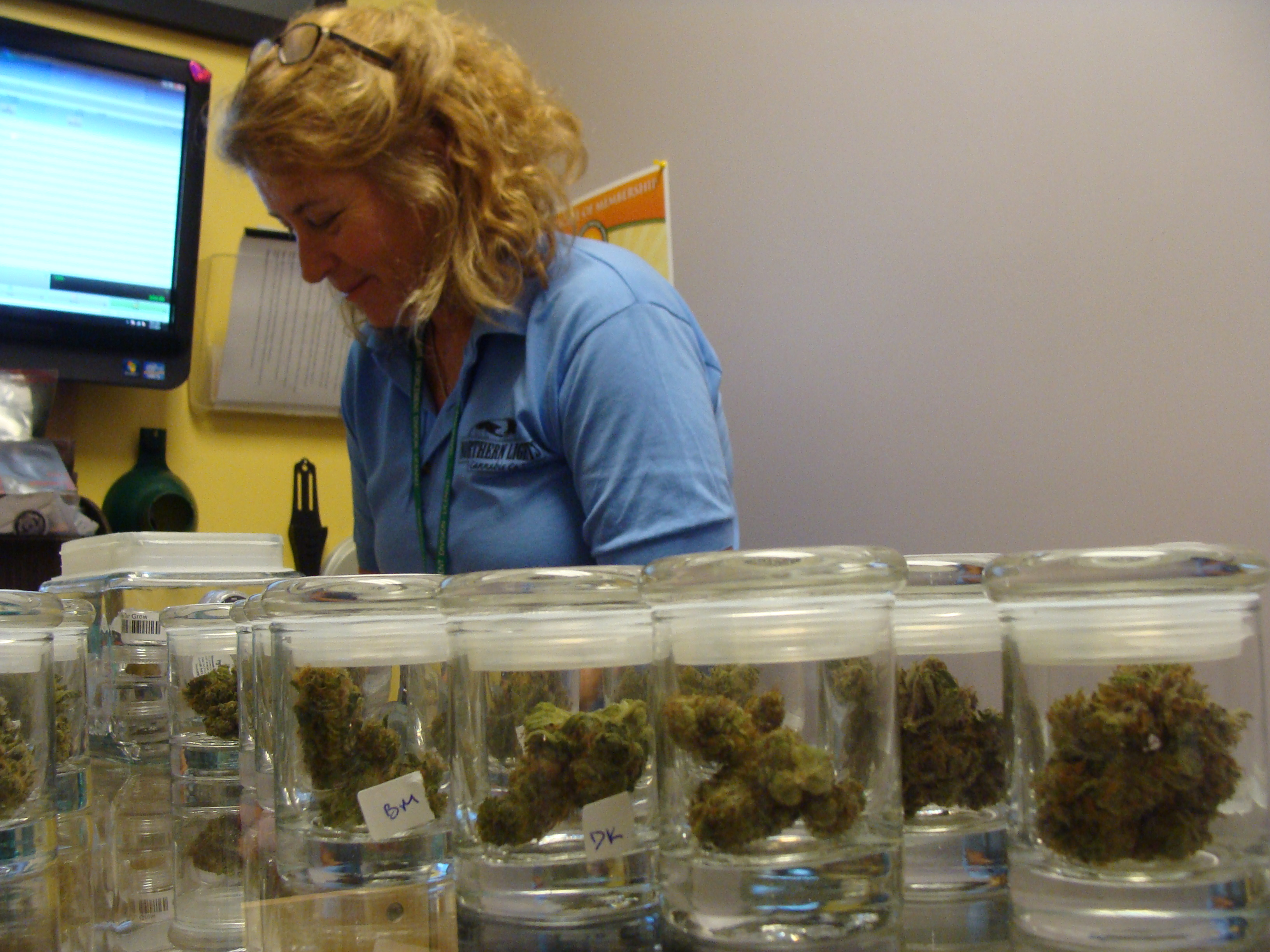 Photo: marijuana sales (file)