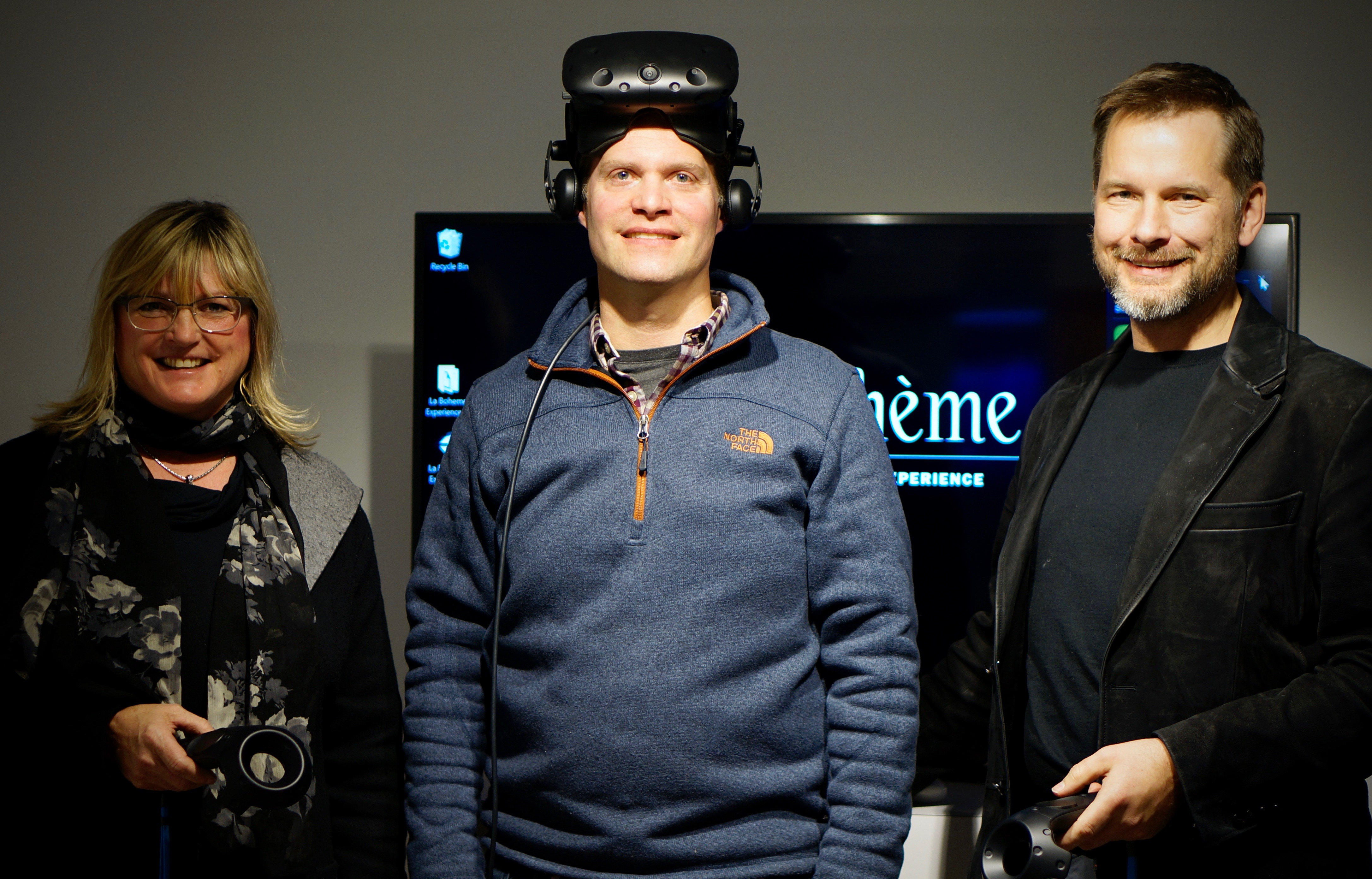 Photo: Experience La Boheme exhibition creative team