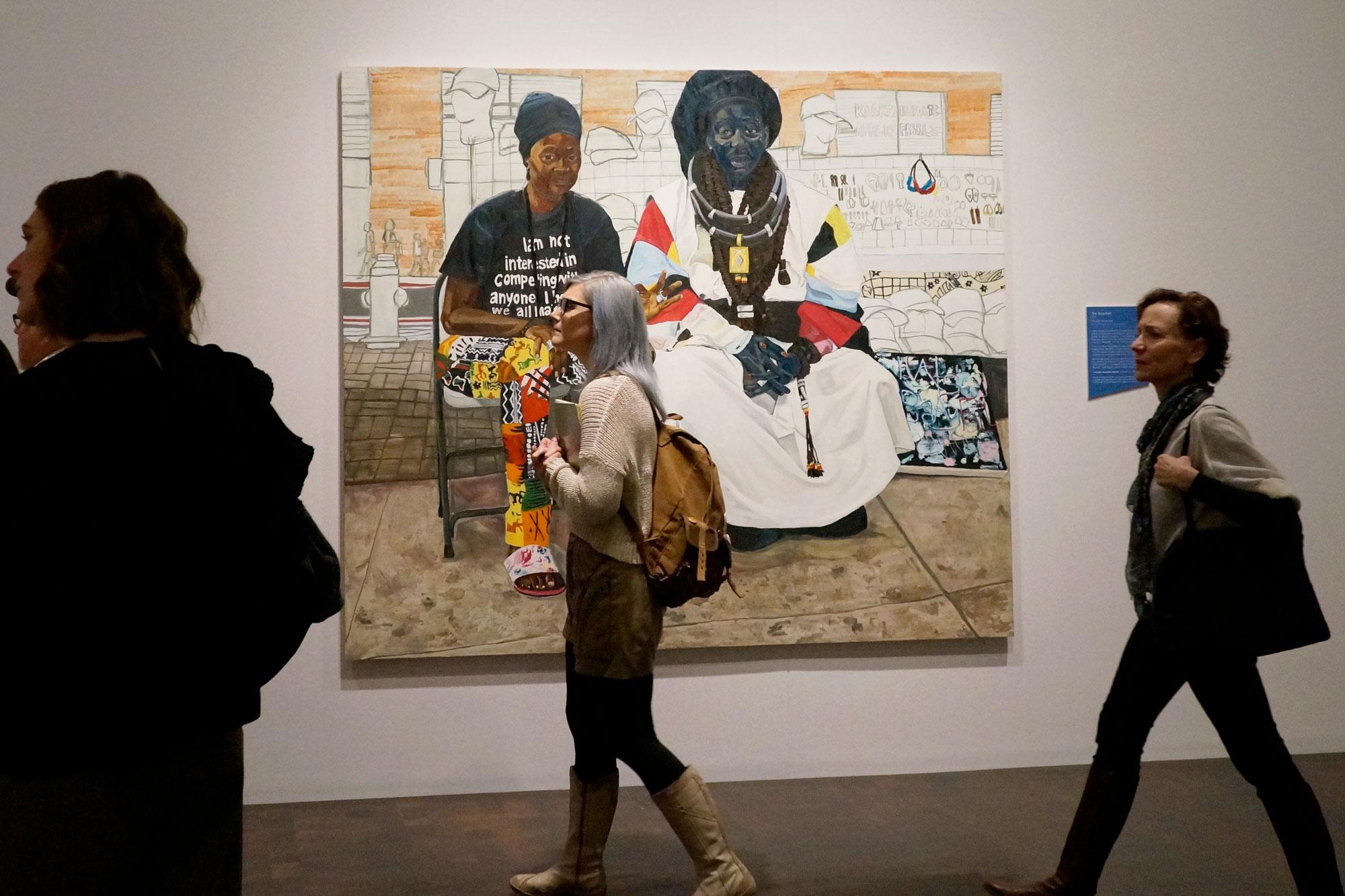 Photo: Jordan Casteel Denver Art Museum Show