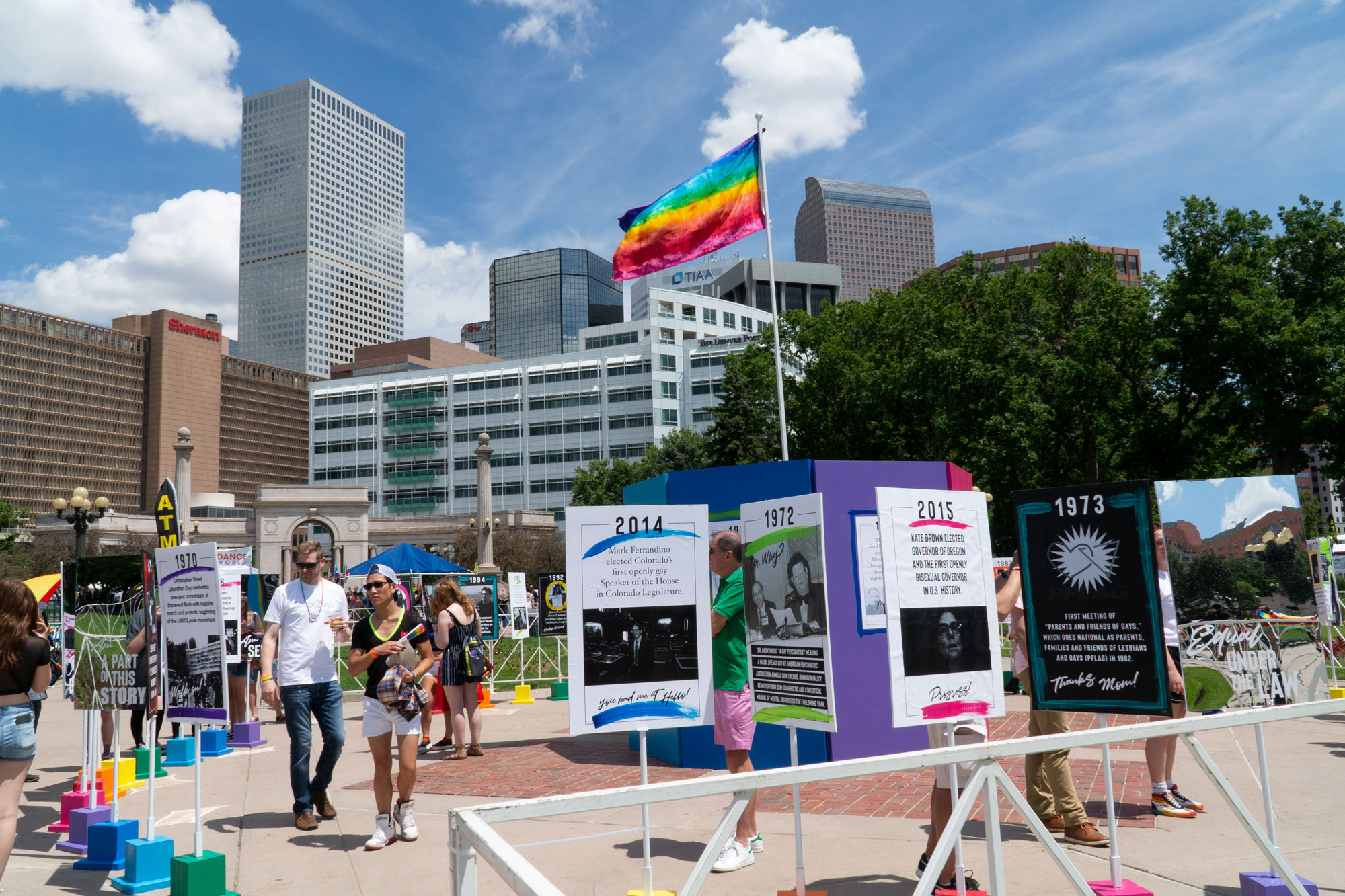 Photo: PrideFest Safety Symposium 3 - Art Installation 2019