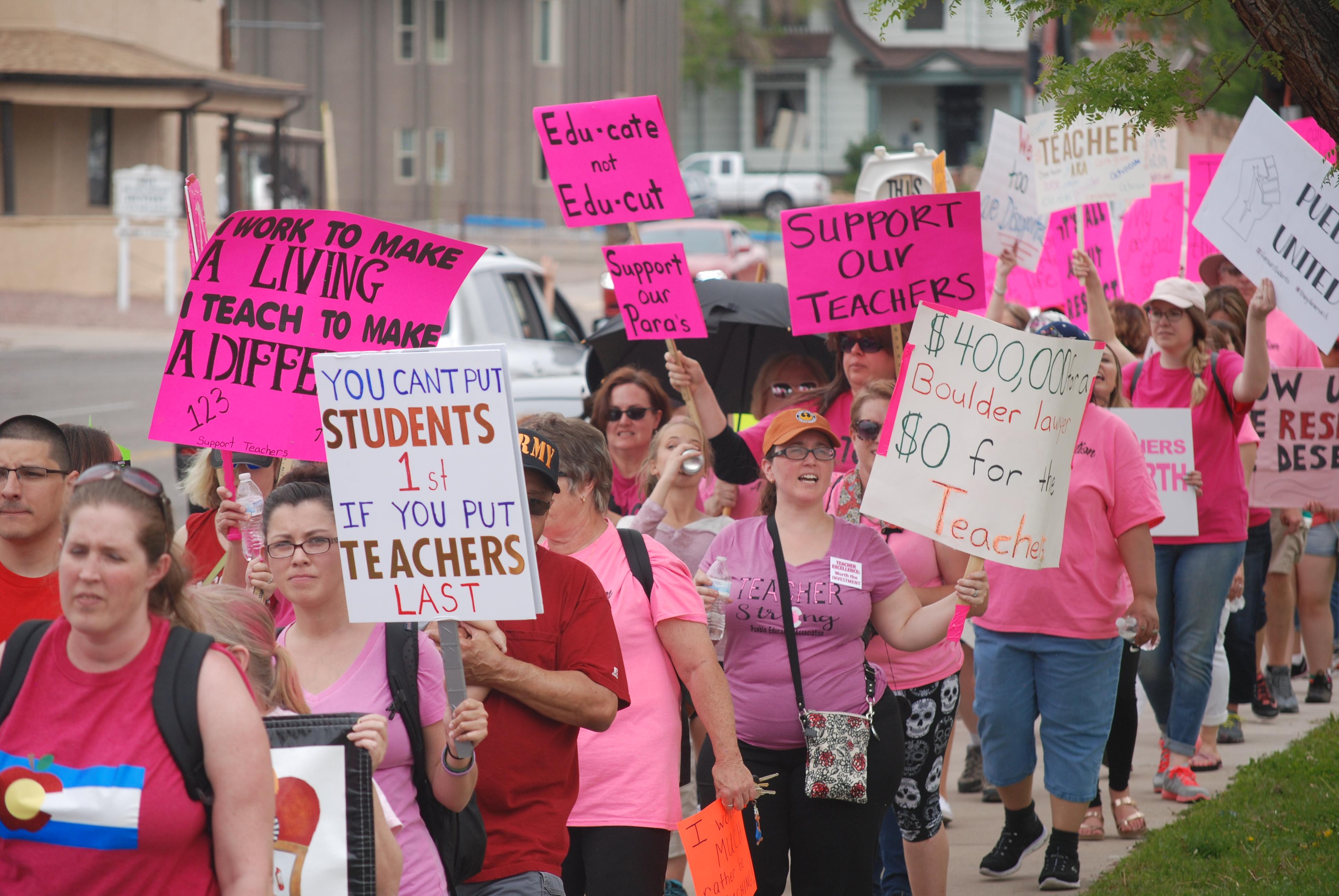 Photo: Pueblo D60 Teacher Strike 2- SLewis