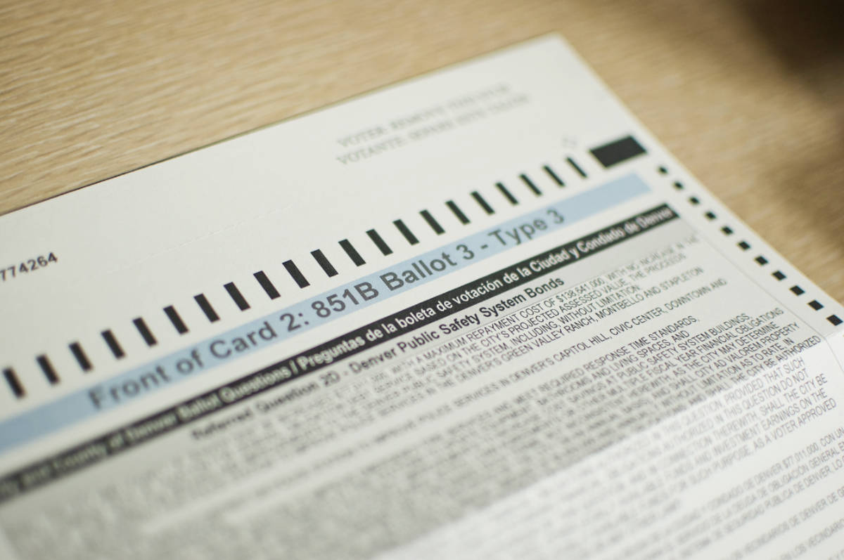 Photo: Voting Ballot